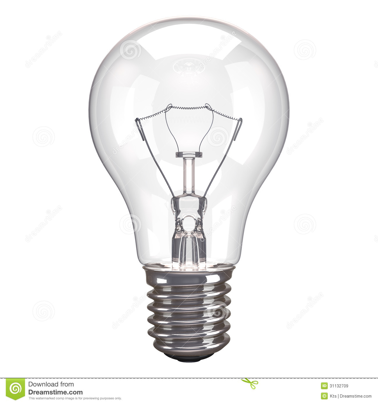 Lamp White Background Royalty Free Stock Images Image 31132709