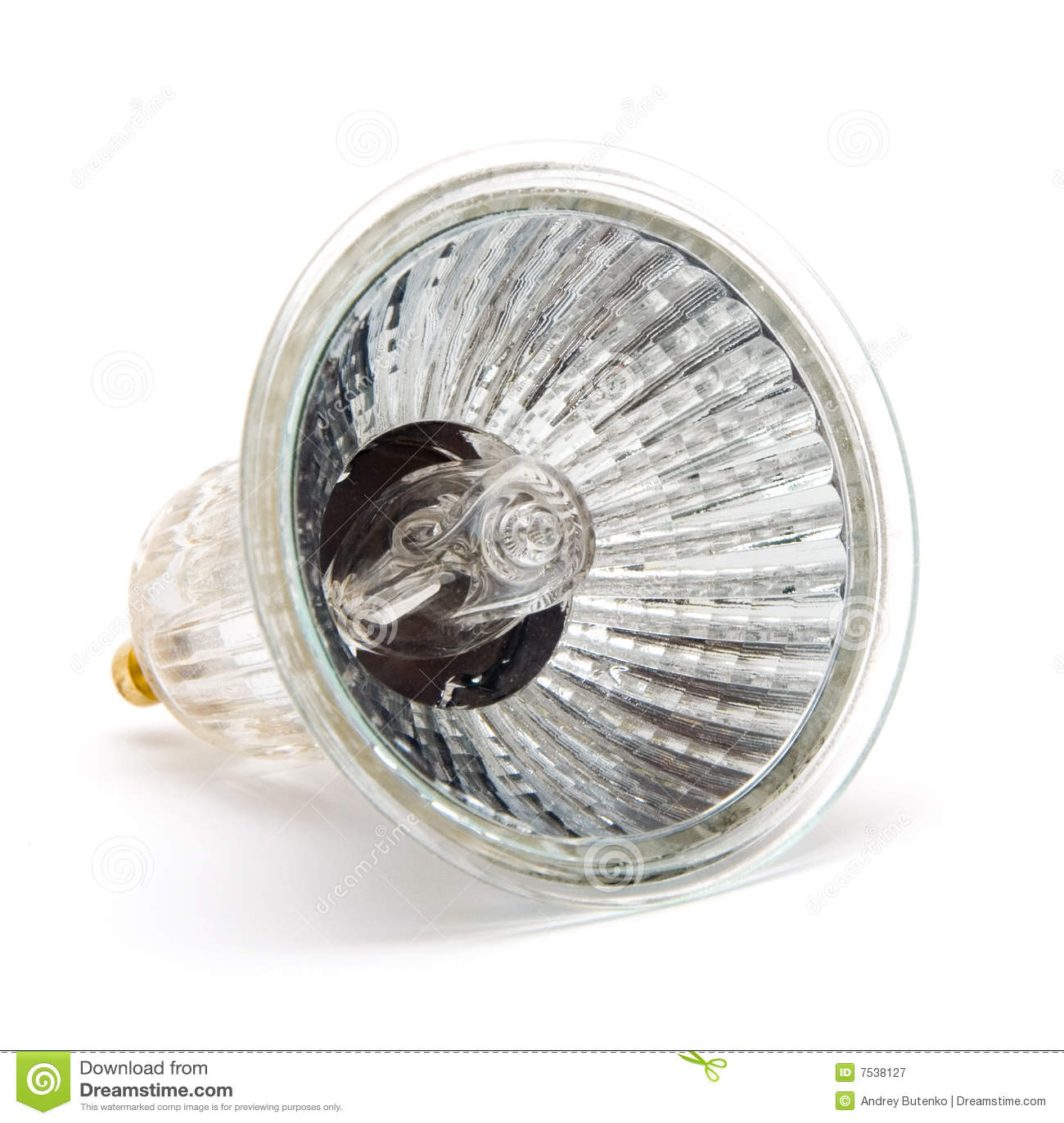 Lampada alogena immagine stock immagine di trasparente for Lampada alogena