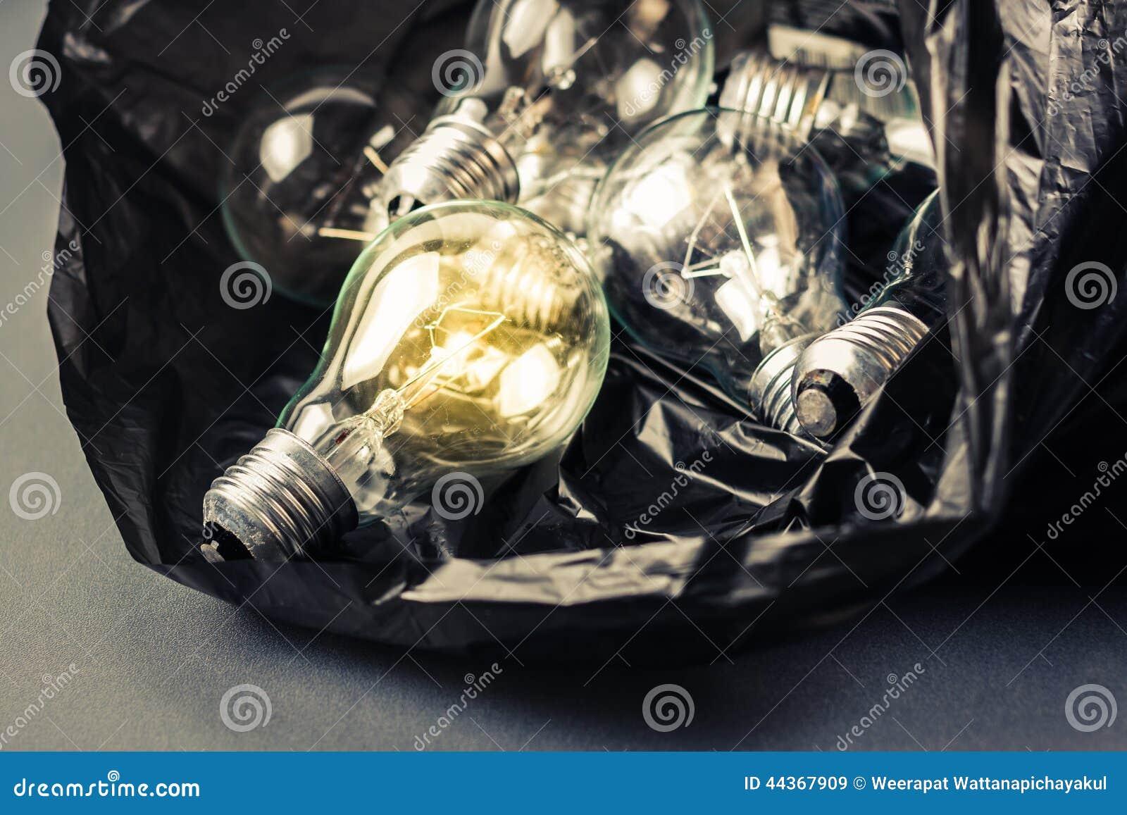 Lampada in borsa