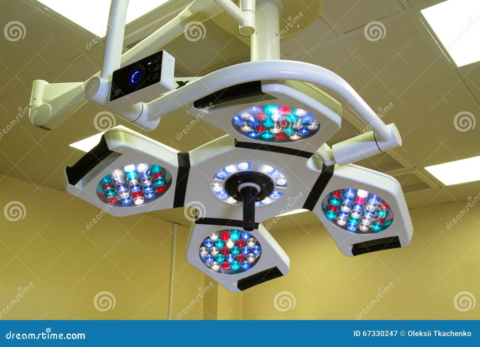 Plafoniere Per Sala Operatoria : Lampada del led nella sala operatoria immagine stock