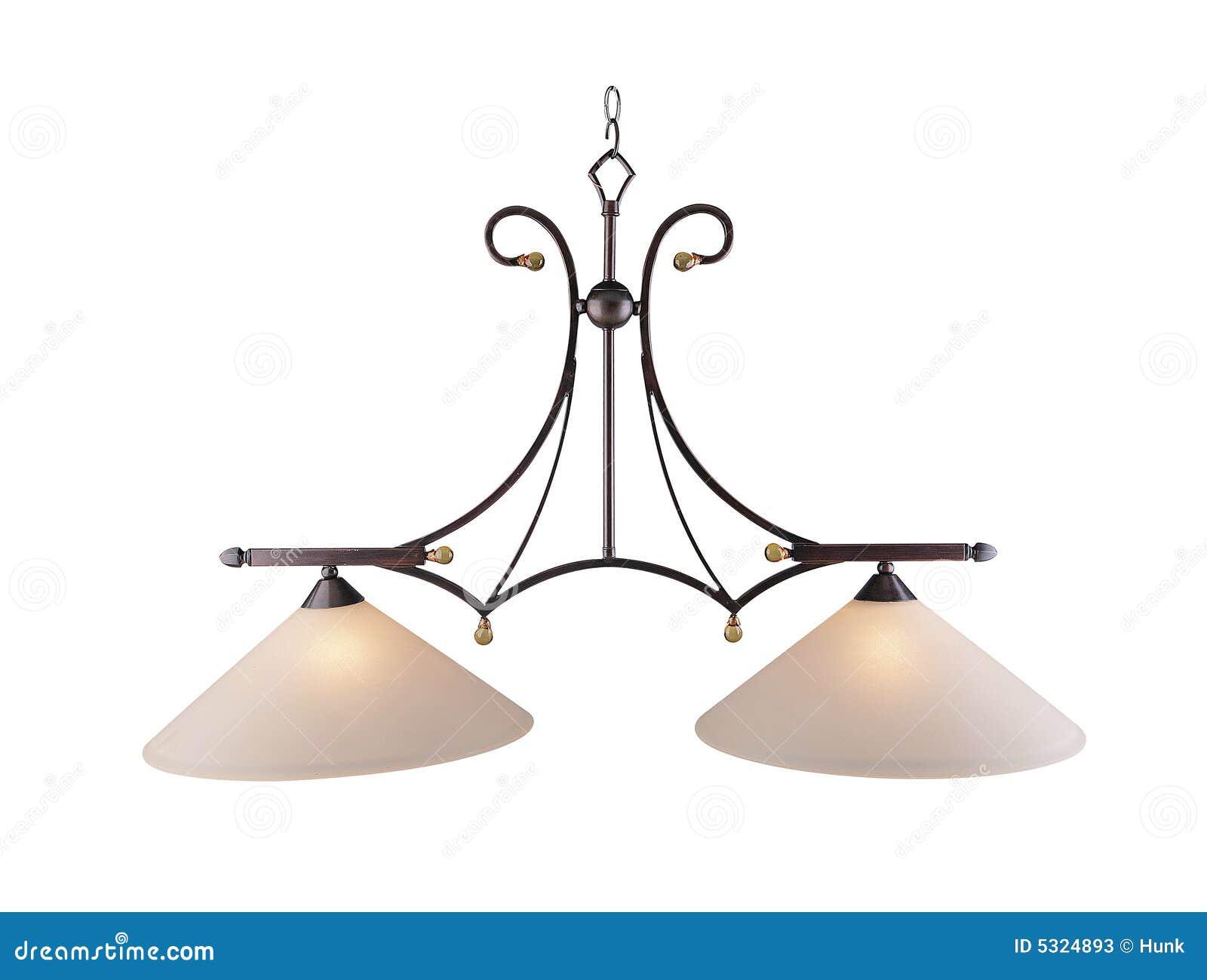 Download Lampada del soffitto immagine stock. Immagine di classico - 5324893