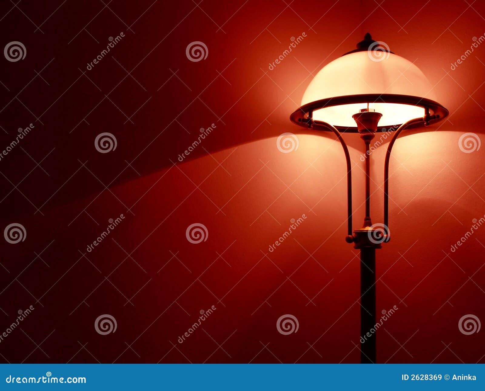 Lampada della camera da letto immagine stock immagine di bedroom