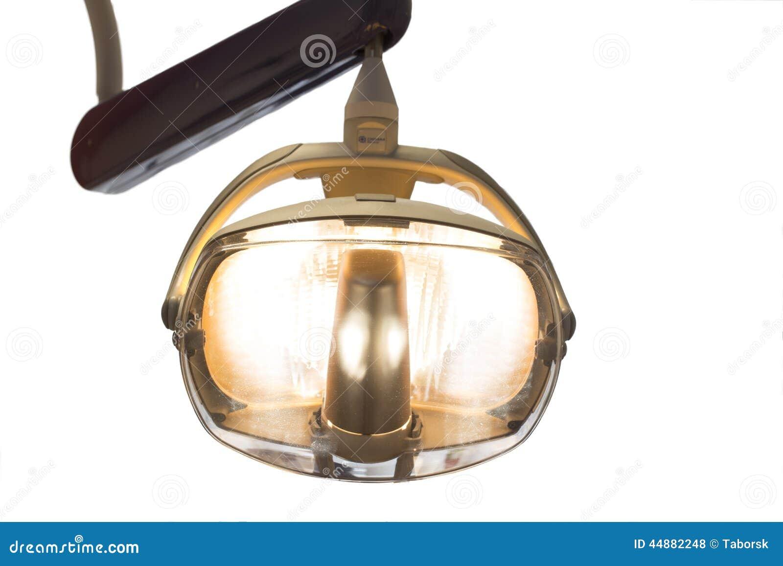 Lampada Della Sedia Del Dentista Fotografia Stock ...