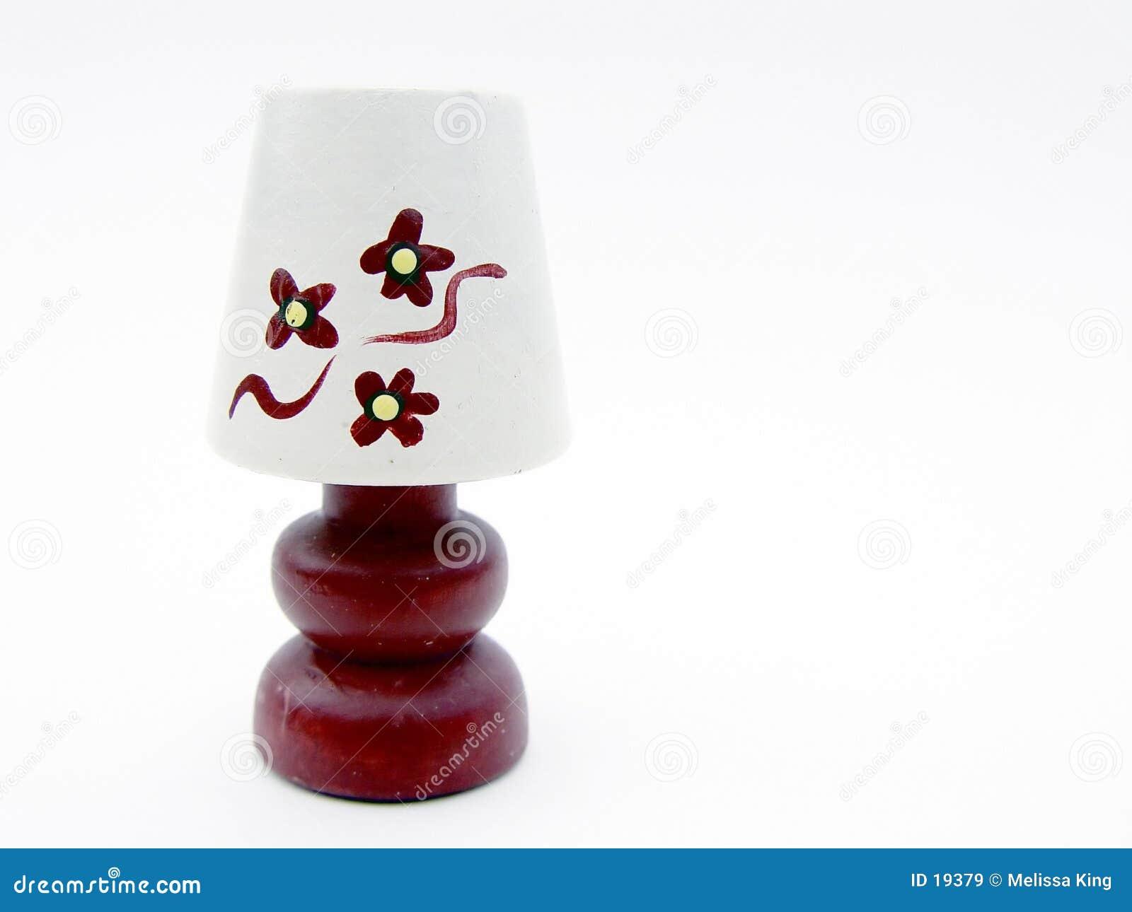 Lampada isolata di Miniutre