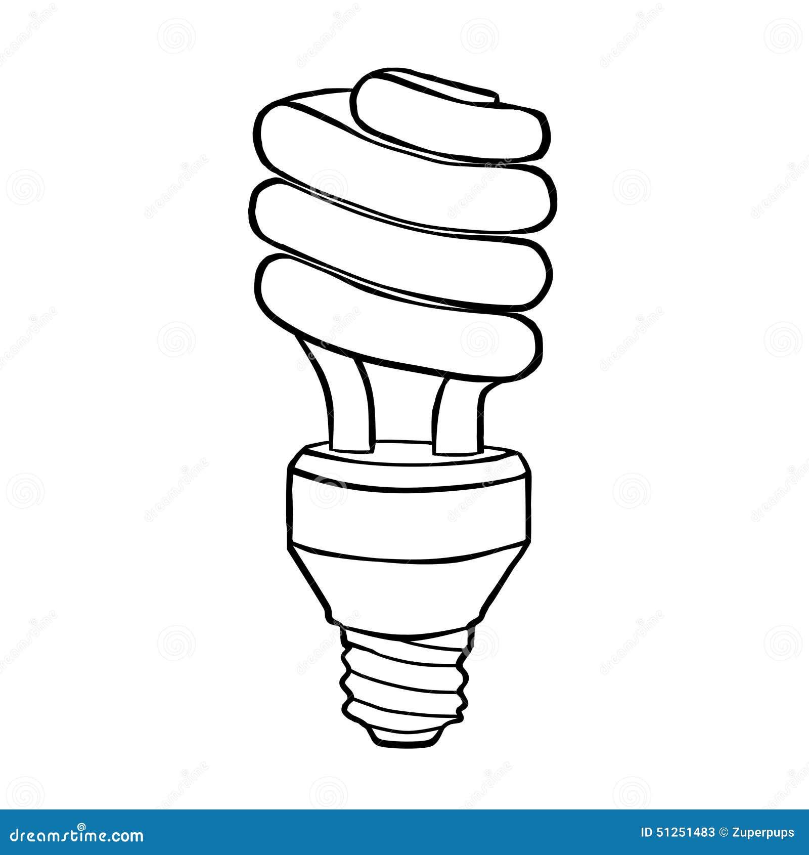 Lampada a scarica elettrica economizzatrice d 39 energia a for Scarica clipart