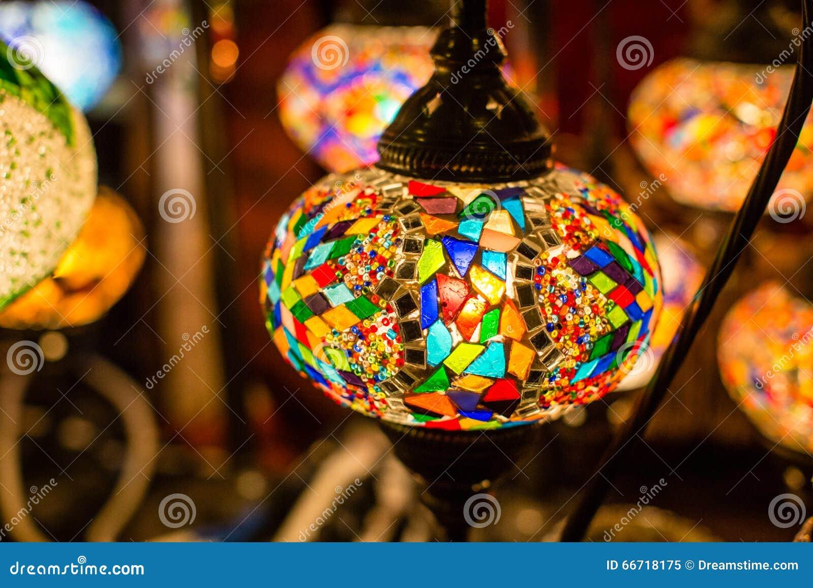 Lampade Arabe Fotografia Stock - Immagine: 66718175