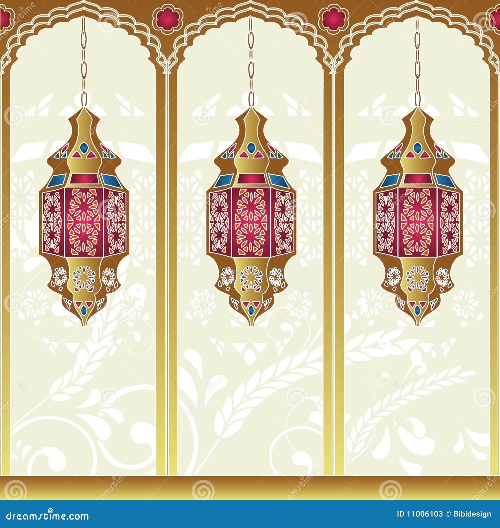 Lampade Arabe Di Stile Fotografie Stock - Immagine: 11006103