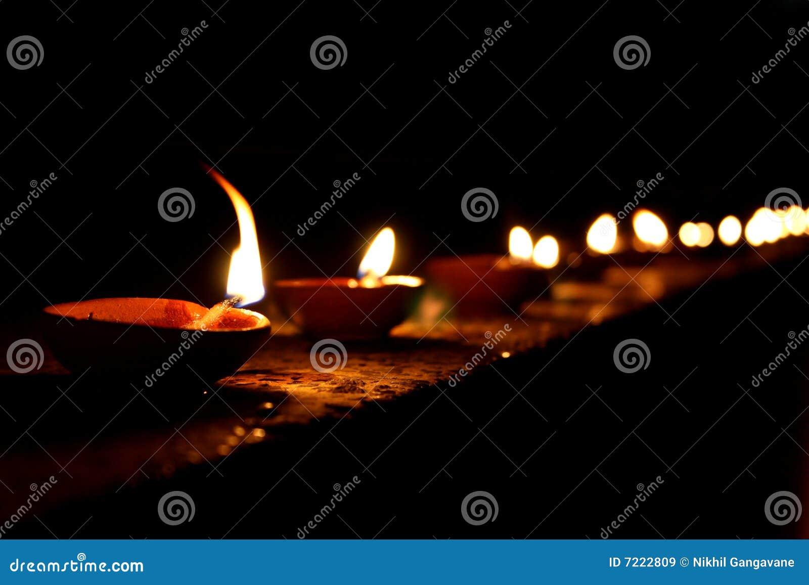 Lampade di Diwali