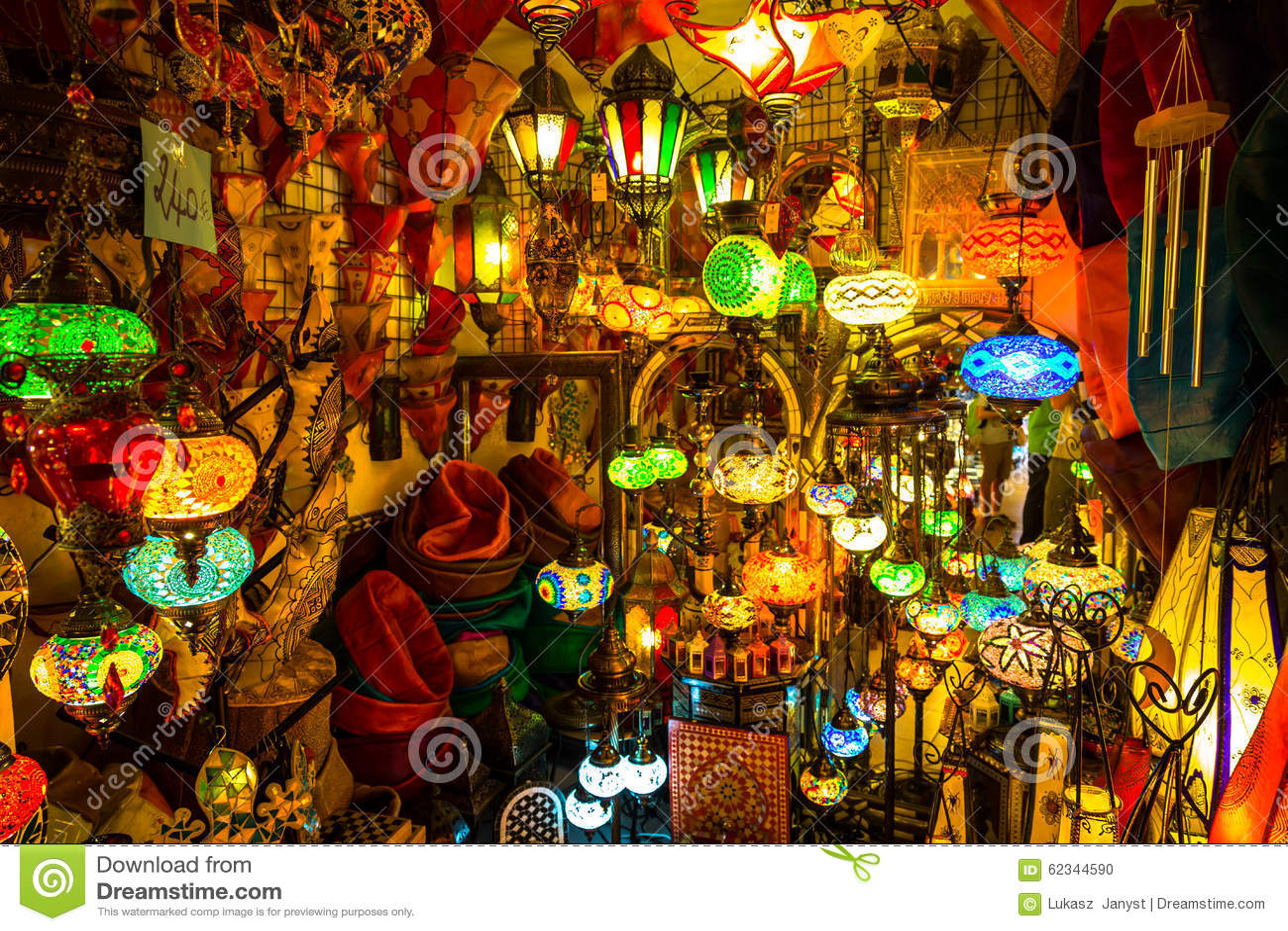 Lampade E Lanterne Arabe A Marrakesh, Marocco Fotografia Stock - Immagine: 62...