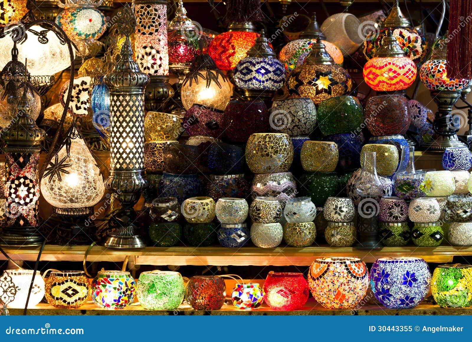 Lampade Orientali Immagine Stock Immagine Di Vendita 30443355