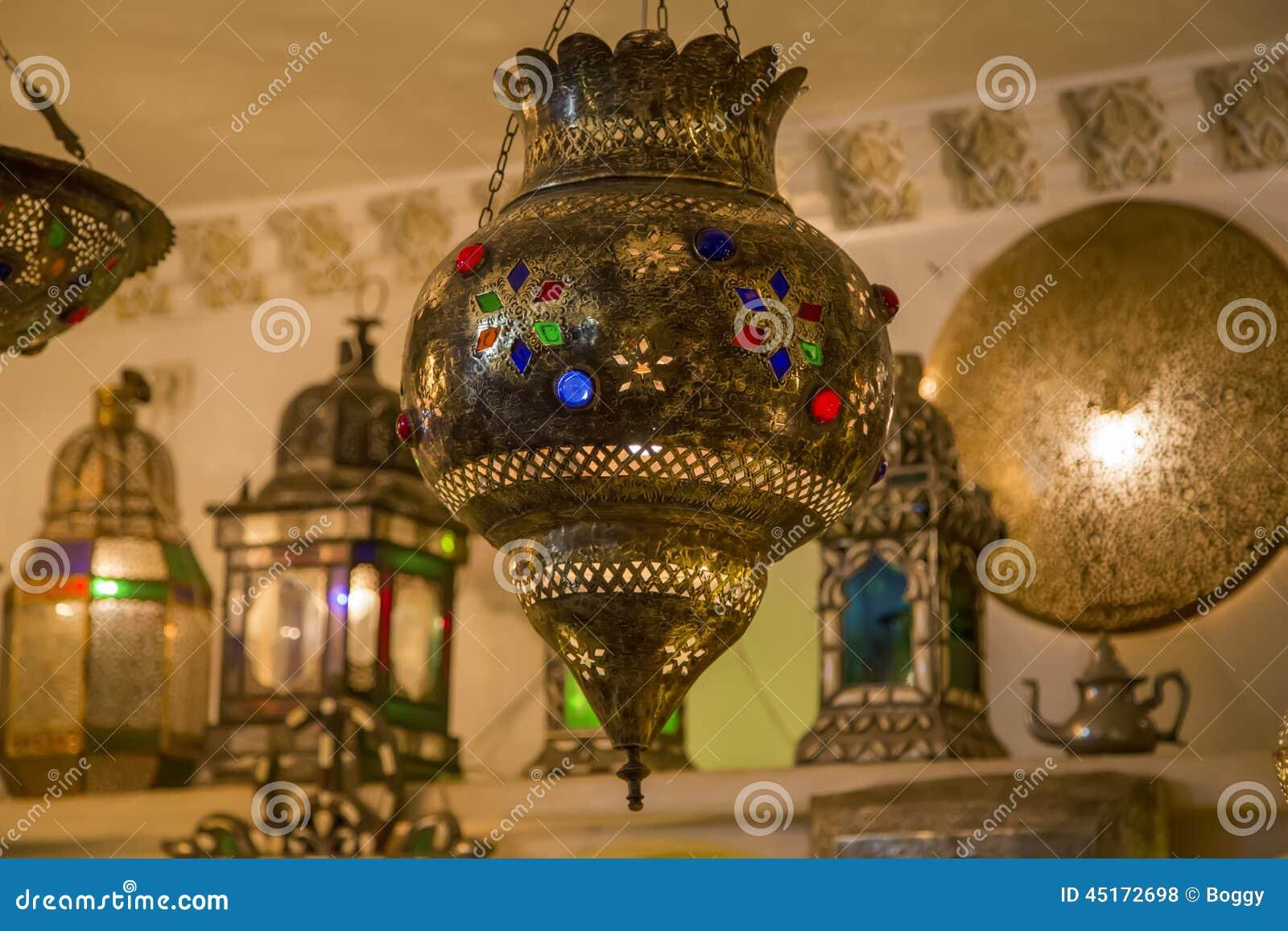 Lampade Orientali Fotografia Stock Immagine Di Appendere 45172698
