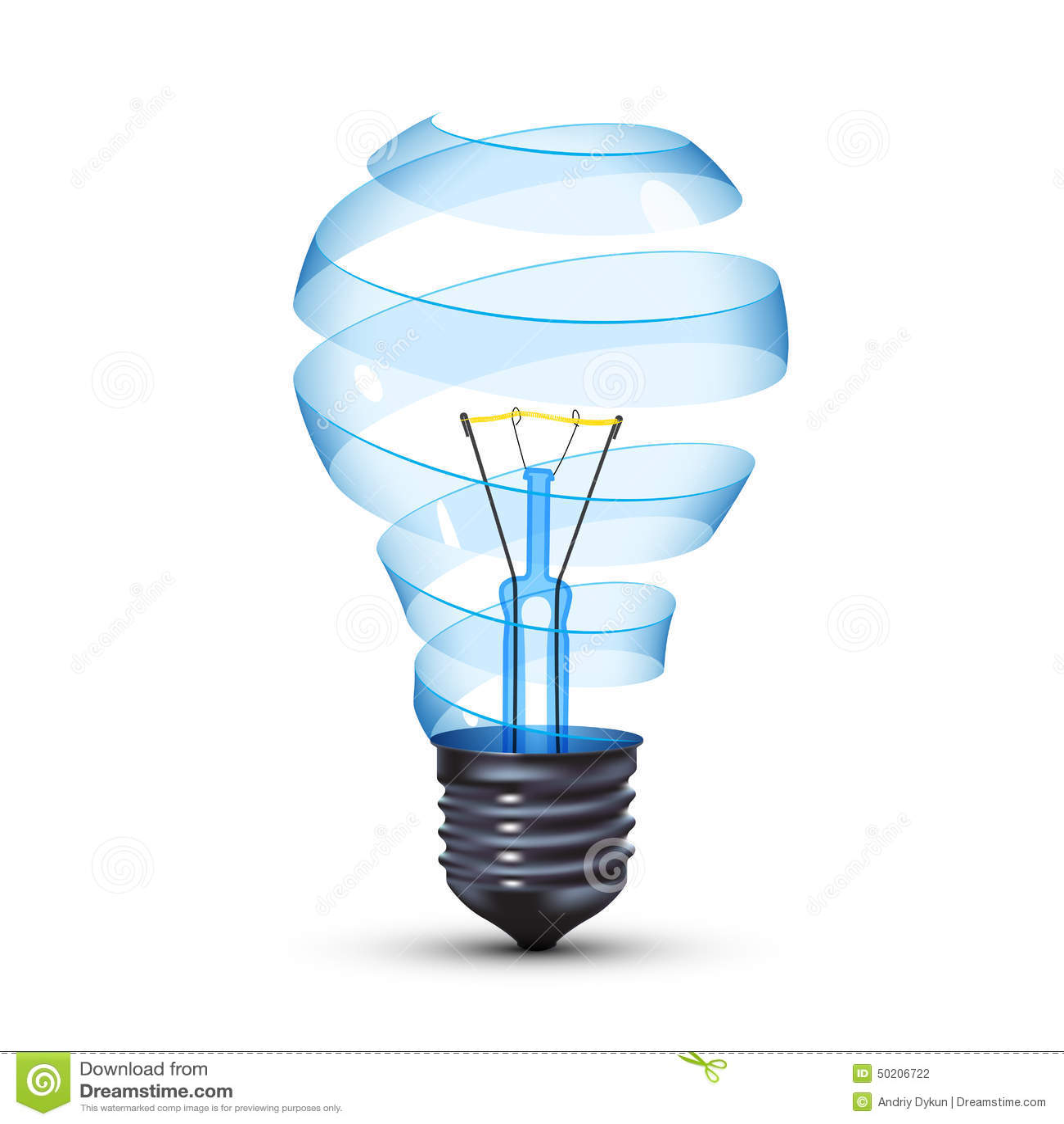 tungsteno lampadina : Lampadina Surreale Illustrazione Vettoriale - Immagine: 50206722