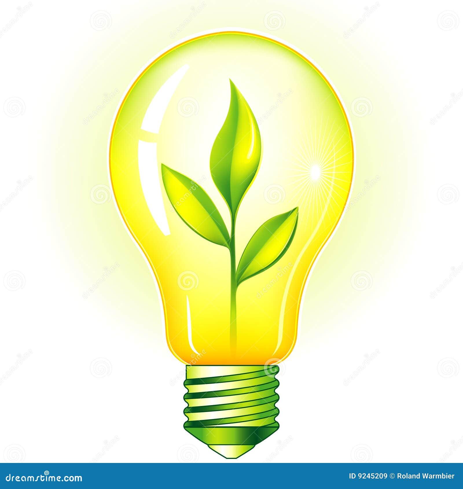 Lampadina Verde Immagini Stock Libere da Diritti ...