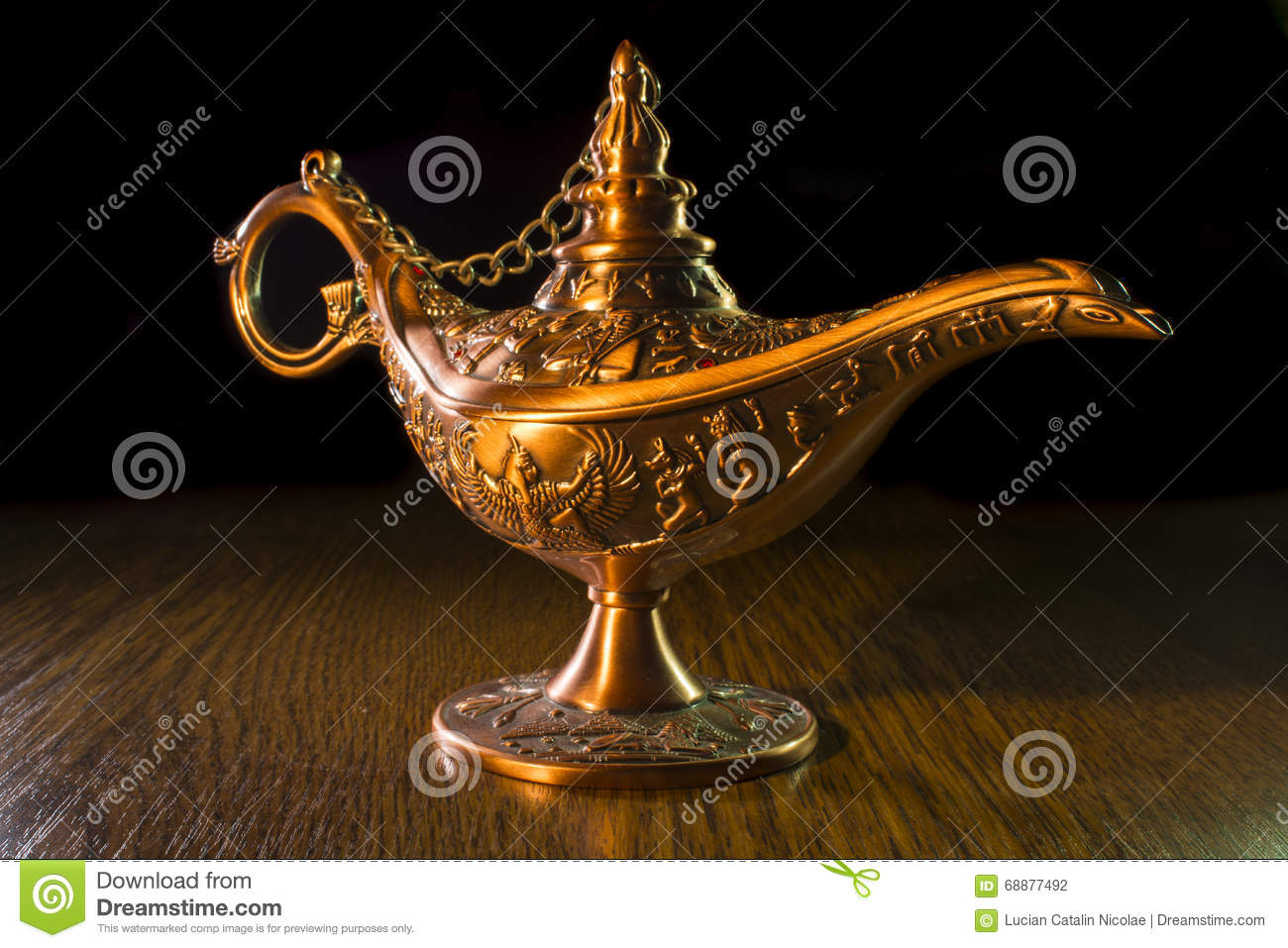 Lampe D Aladin Photo Stock Image Du Concepts Abracadabra 68877492