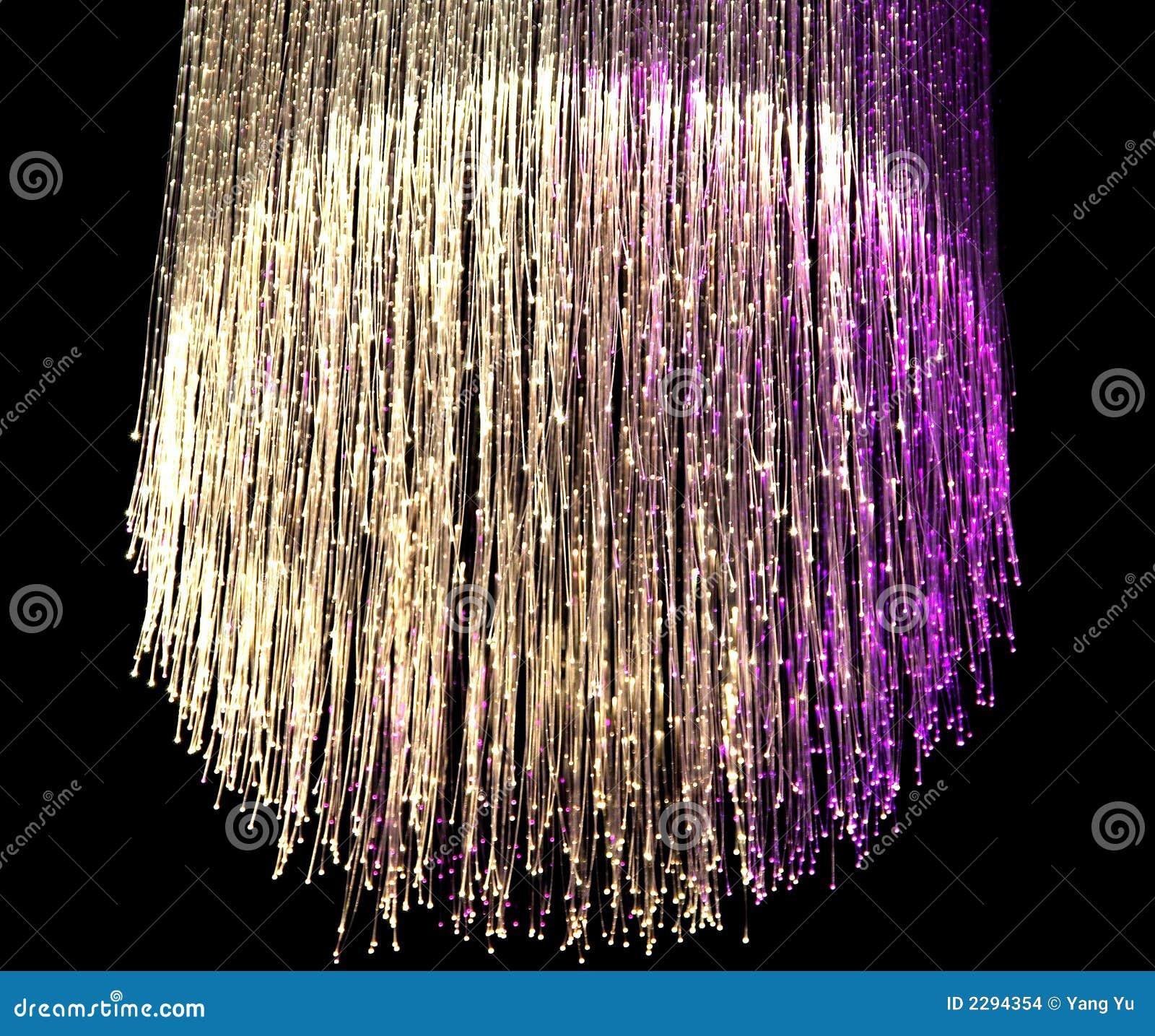 lampe de fibre optique photo stock image du haut. Black Bedroom Furniture Sets. Home Design Ideas