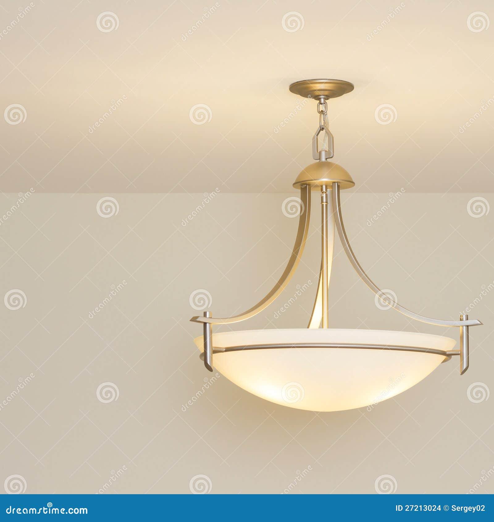 lampe de plafond images stock image 27213024. Black Bedroom Furniture Sets. Home Design Ideas