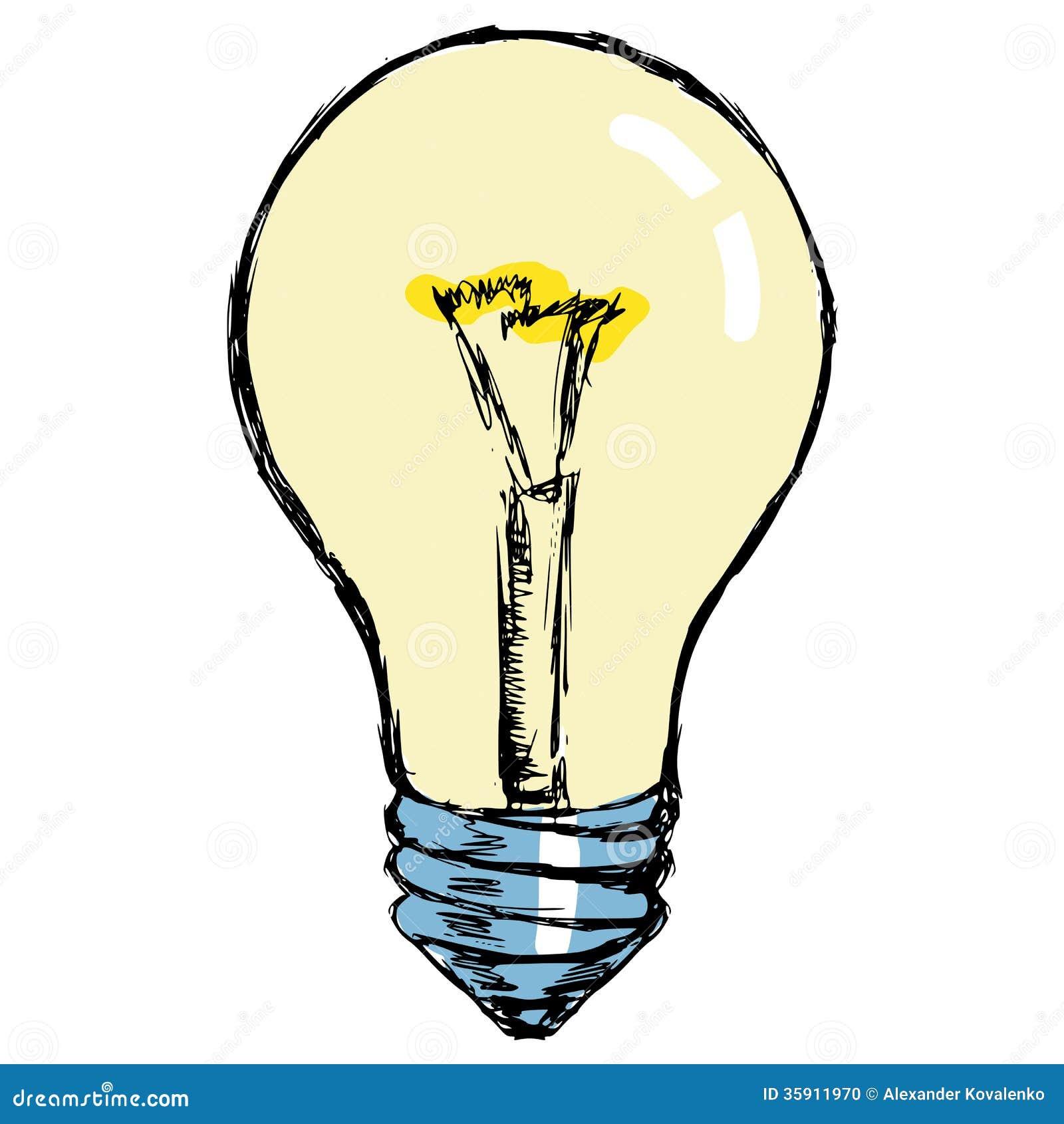 lampe incandescence photo stock image 35911970. Black Bedroom Furniture Sets. Home Design Ideas