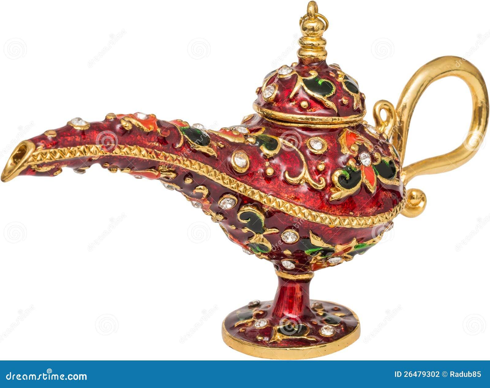 Lampe Magique Photo Stock Image Du Laiton Mysterieux 26479302