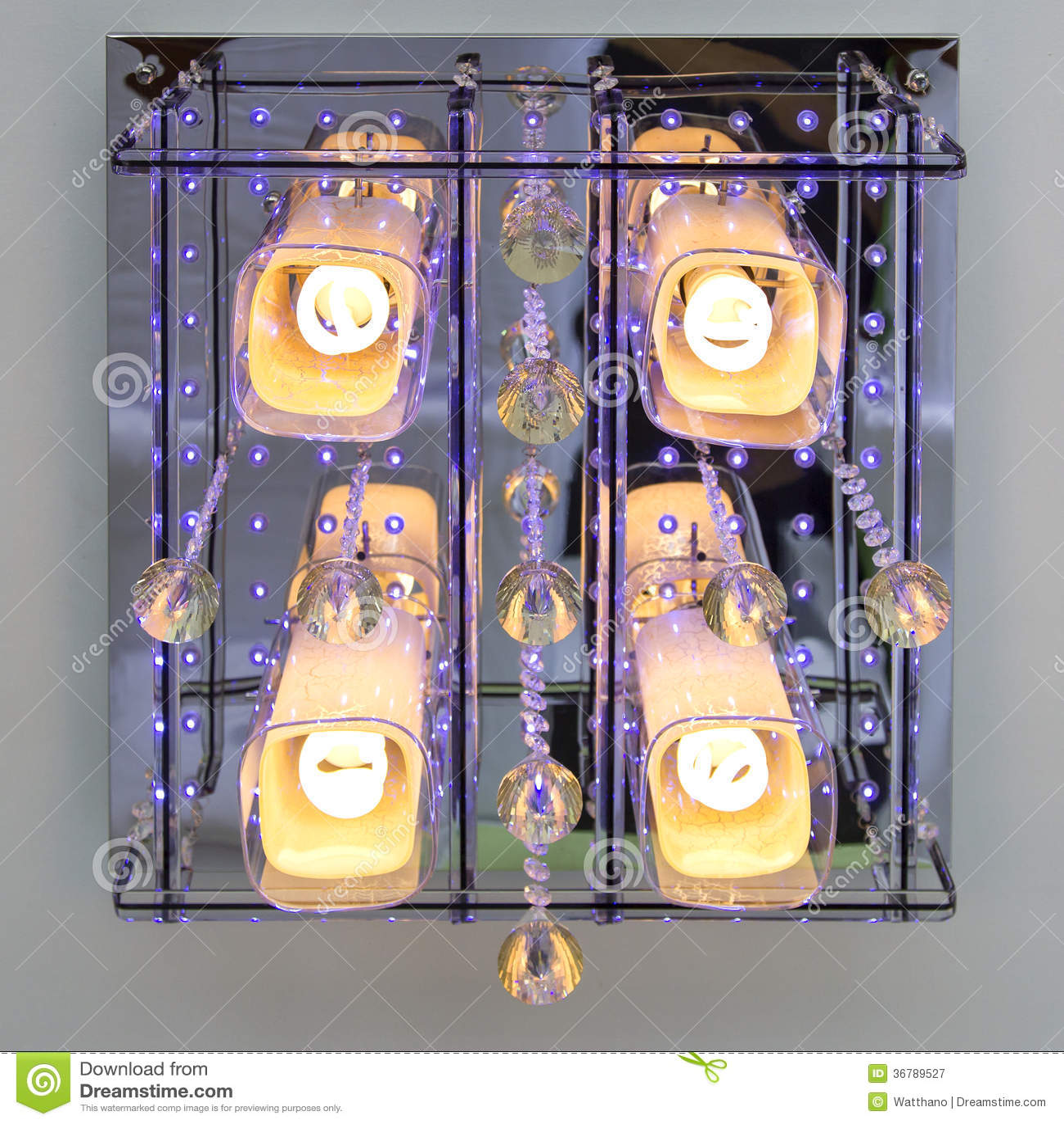 Lampe moderne de plafond d art déco