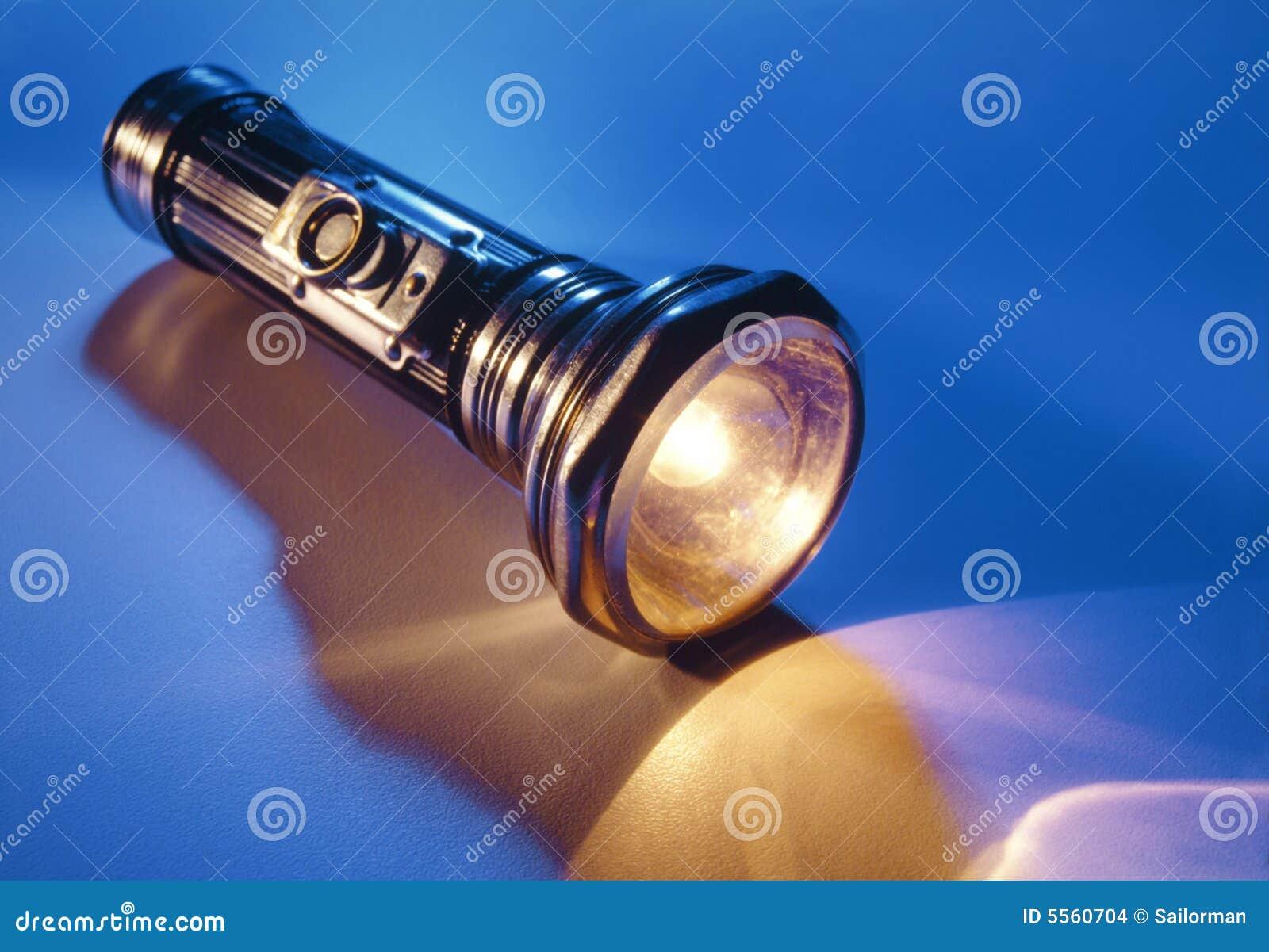Lampe Torche Antique Photo Stock Image Du Indiquez Vieux 5560704