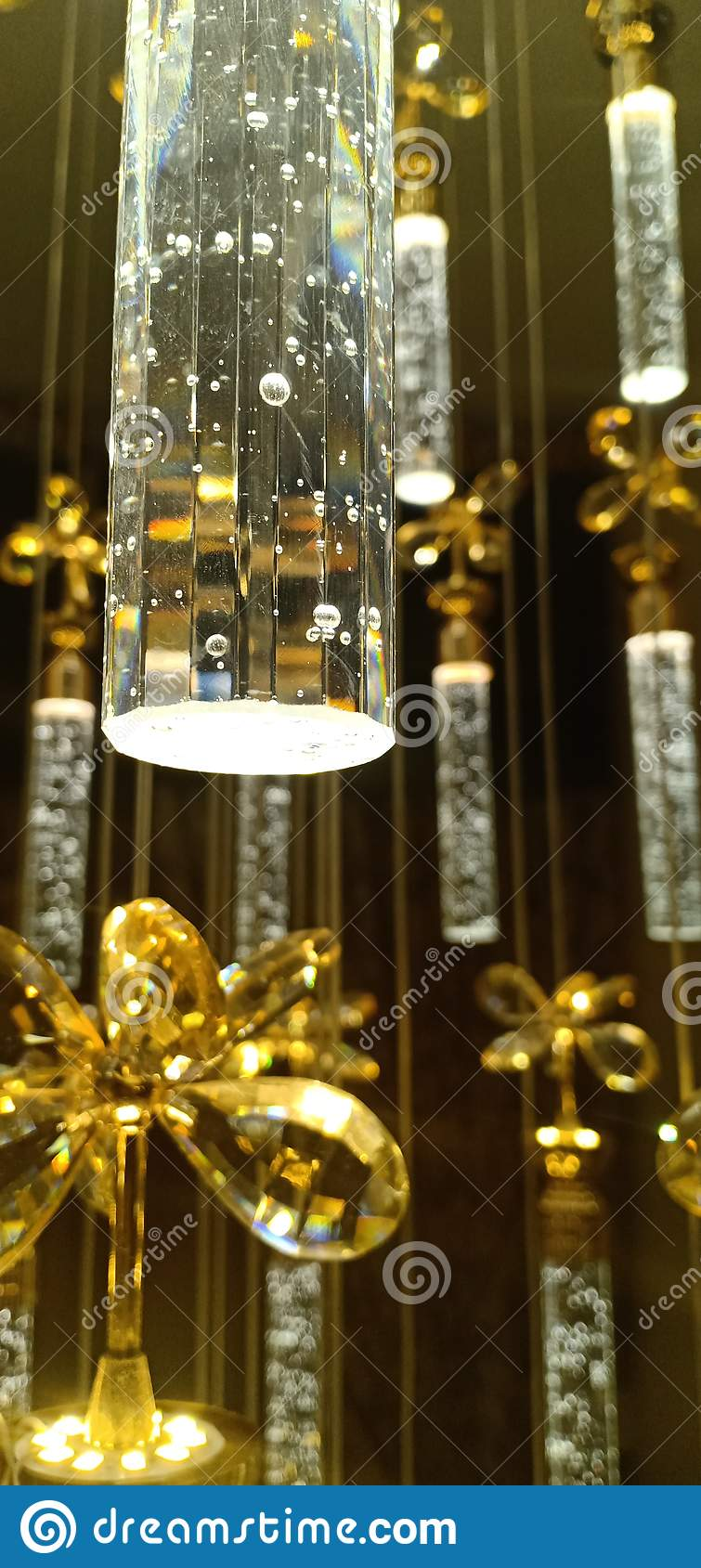 Lampenkristalllichter