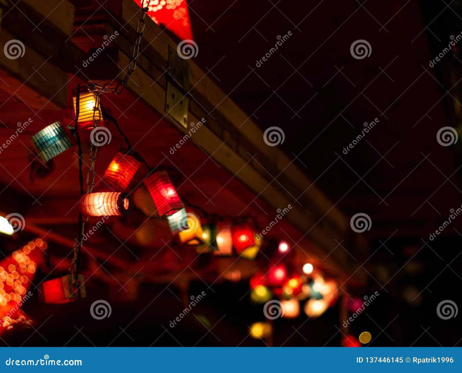 Lampions de la Navidad
