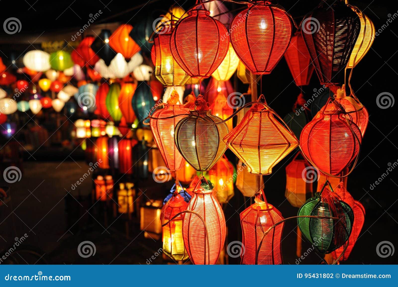 Lampiony przy Hoi, Wietnam