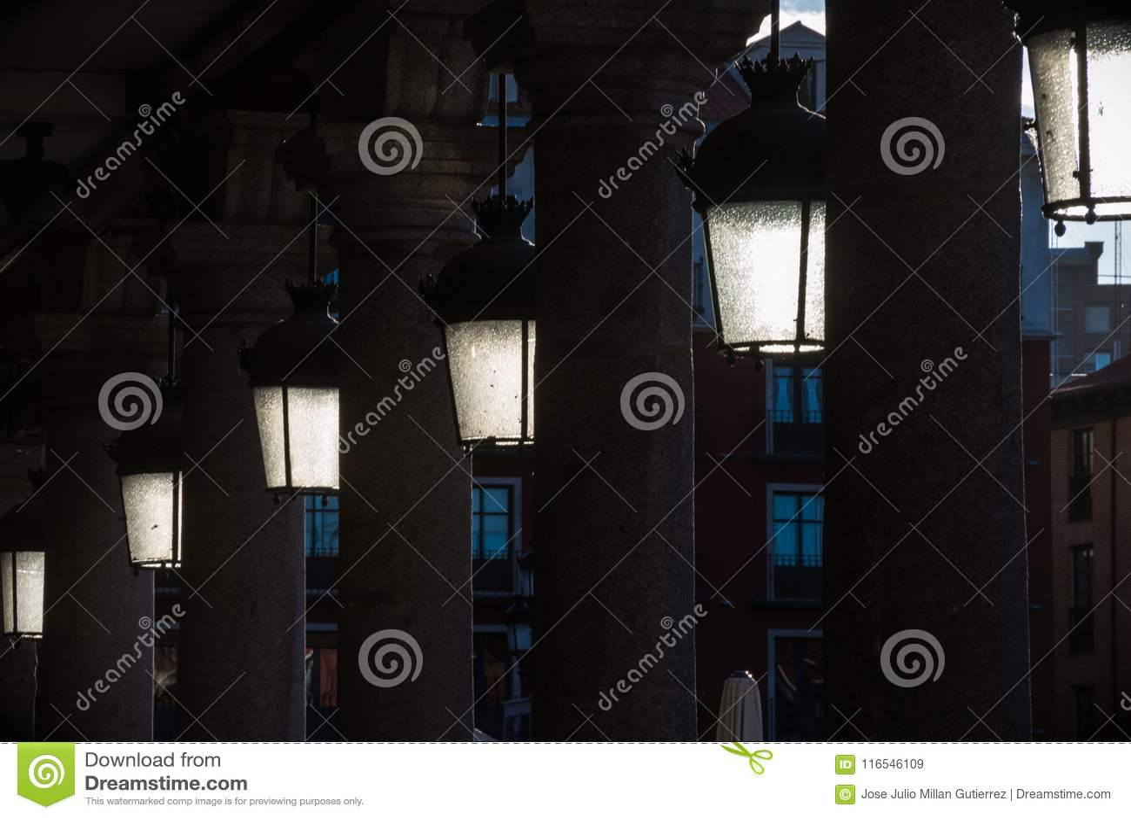 Lampposts antichi