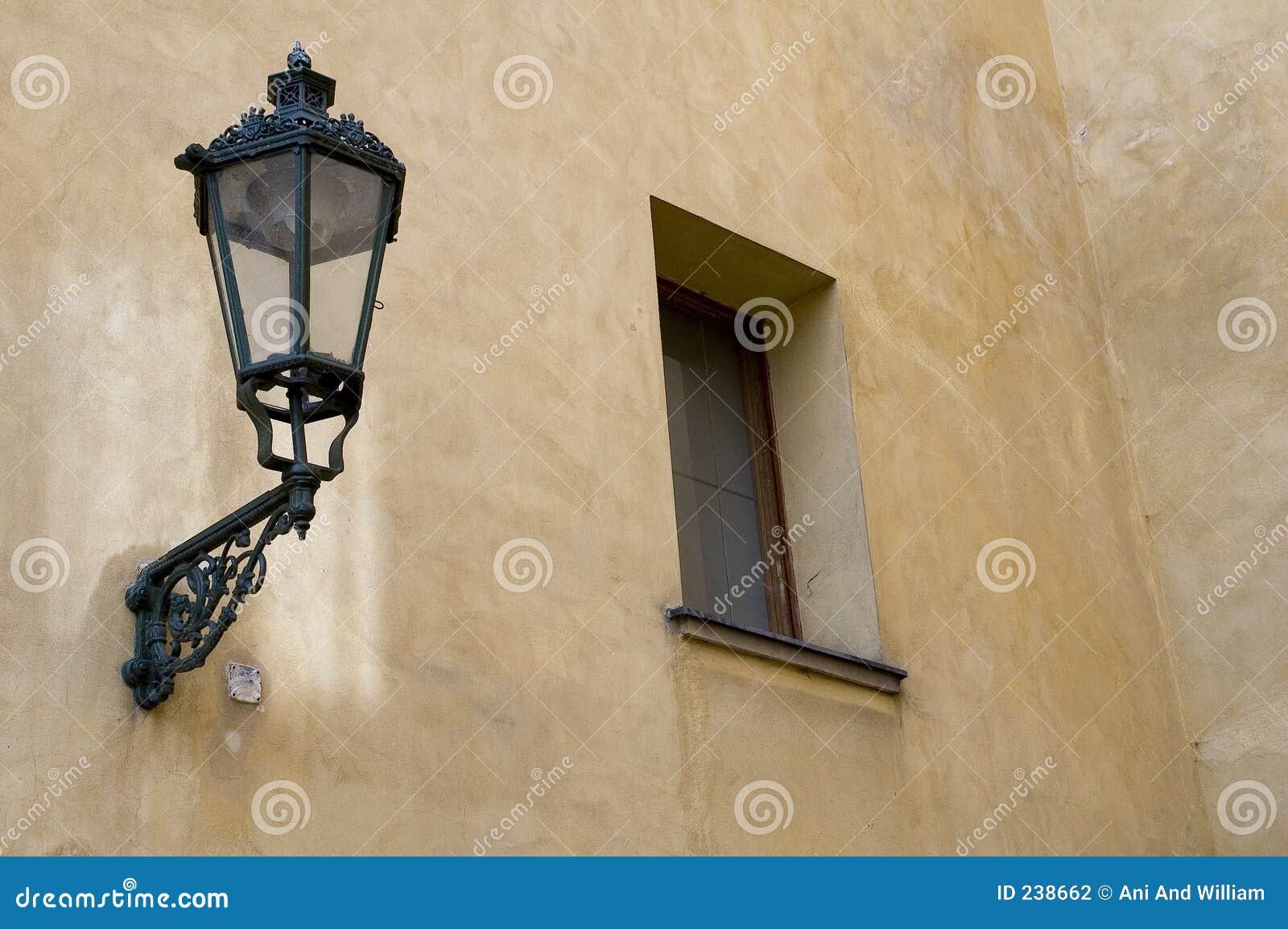 Lampprague fönster