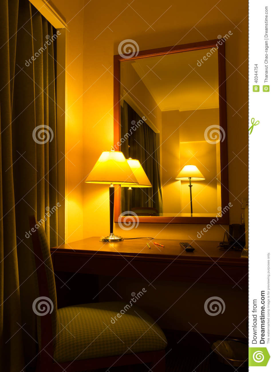 lamps in the bedroom stock photo image 40344754