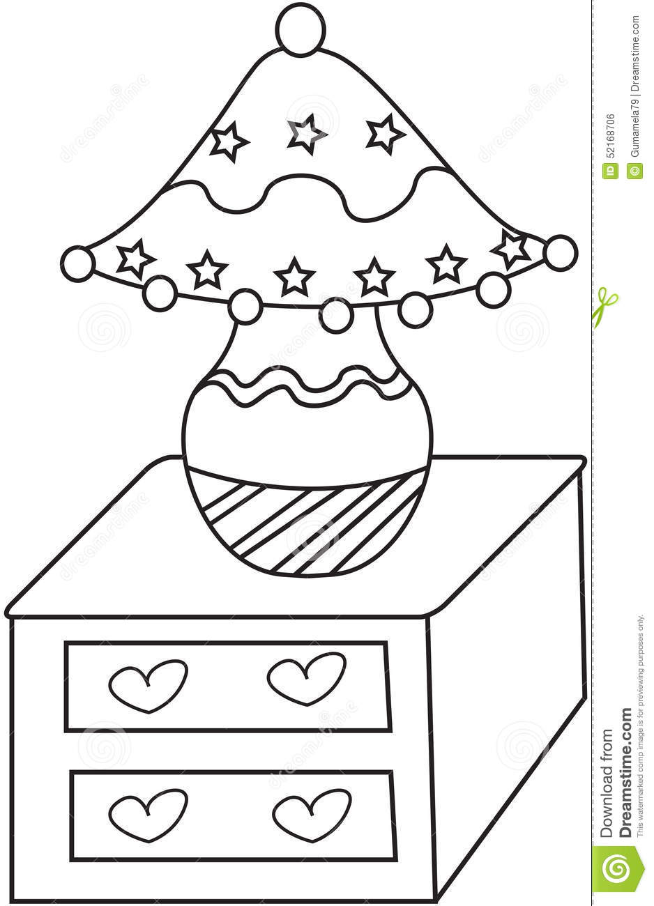 coloring pages roseart lampshades - photo#1