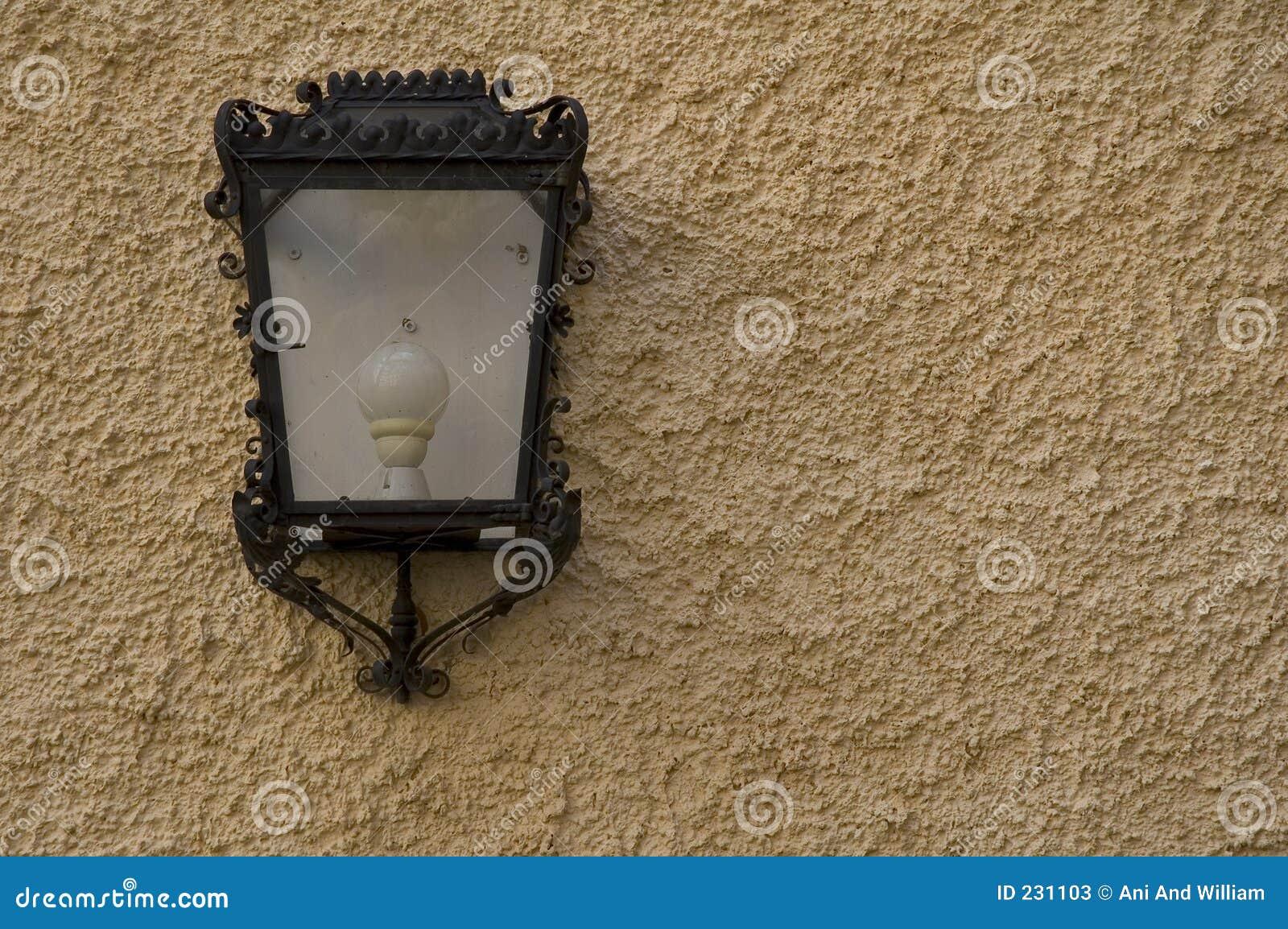 Lampvägg