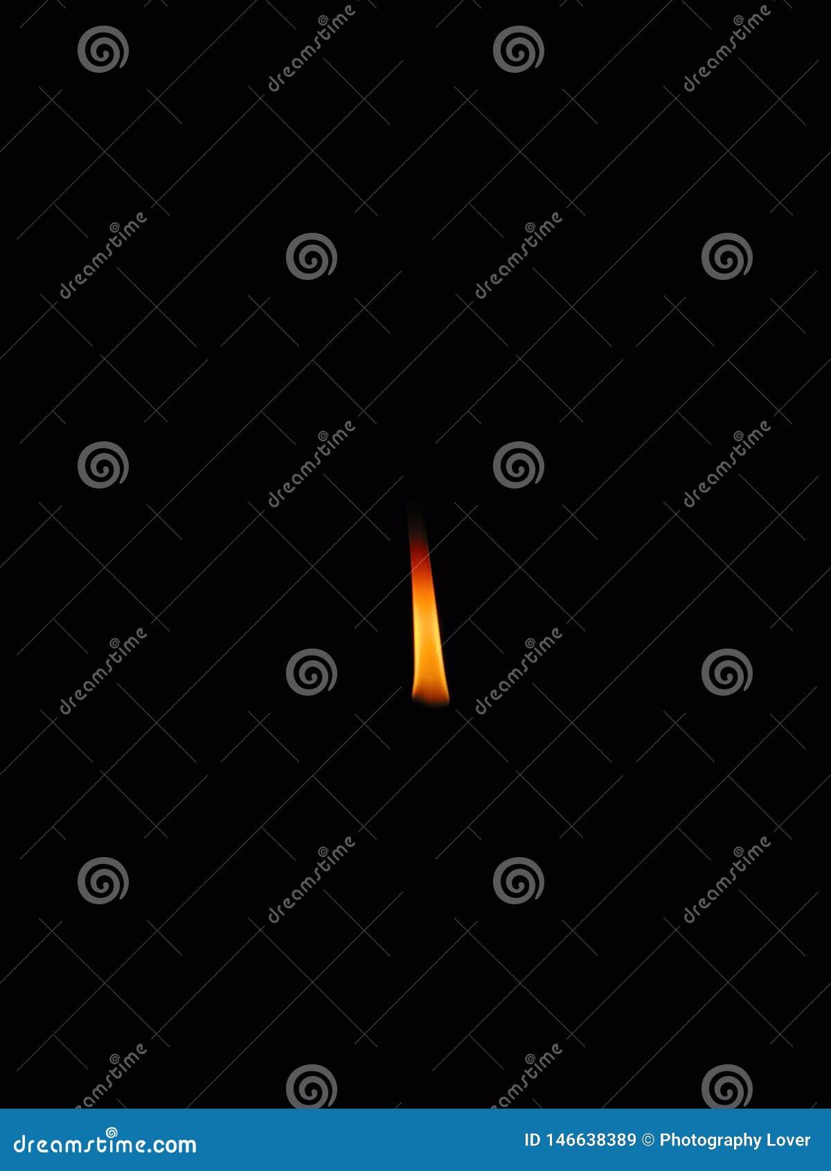Lampvlam wanneer de elektriciteit verliest