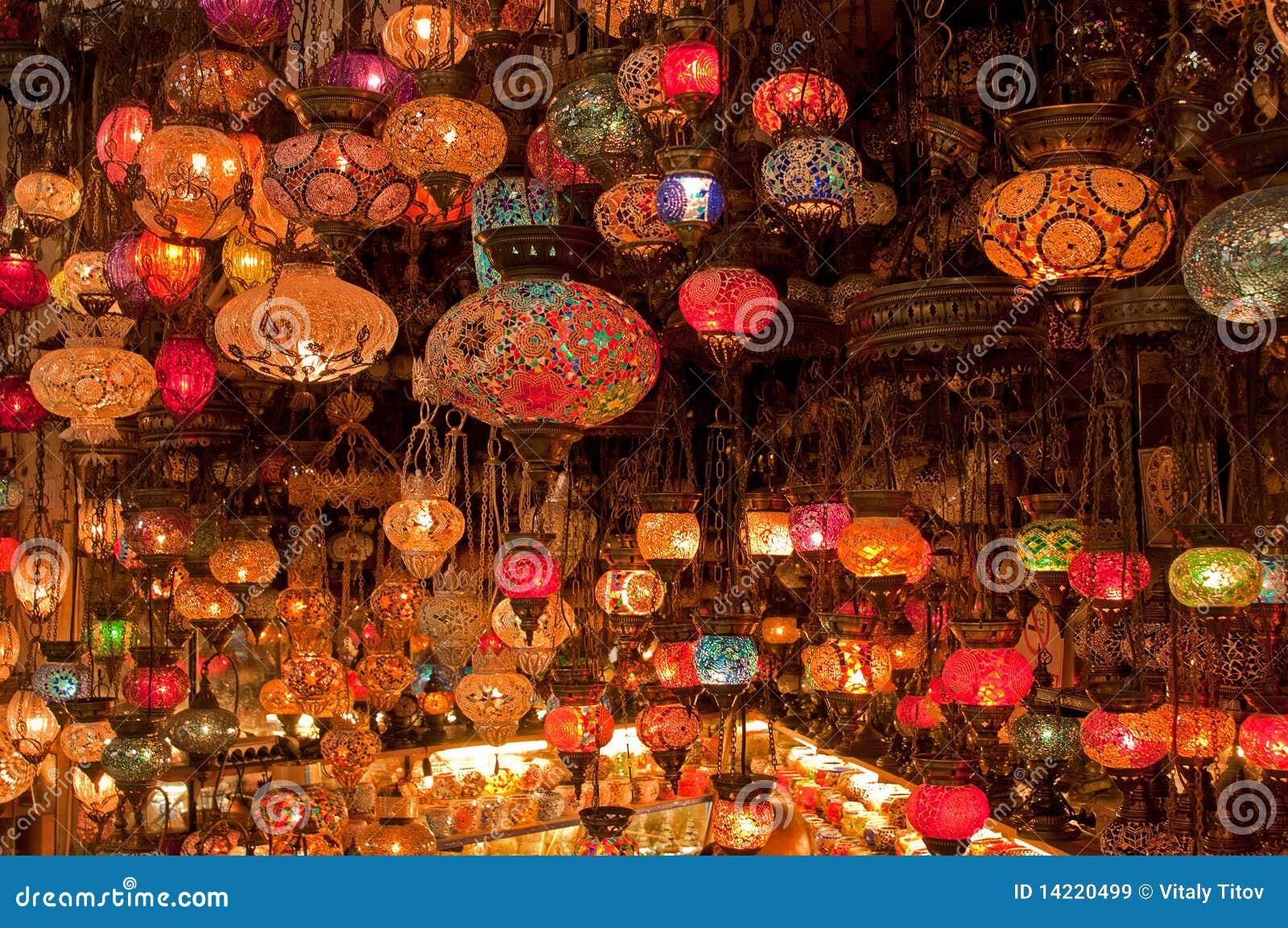 Lampy Tureckie Obraz Stock Obraz Zlozonej Z Lampion