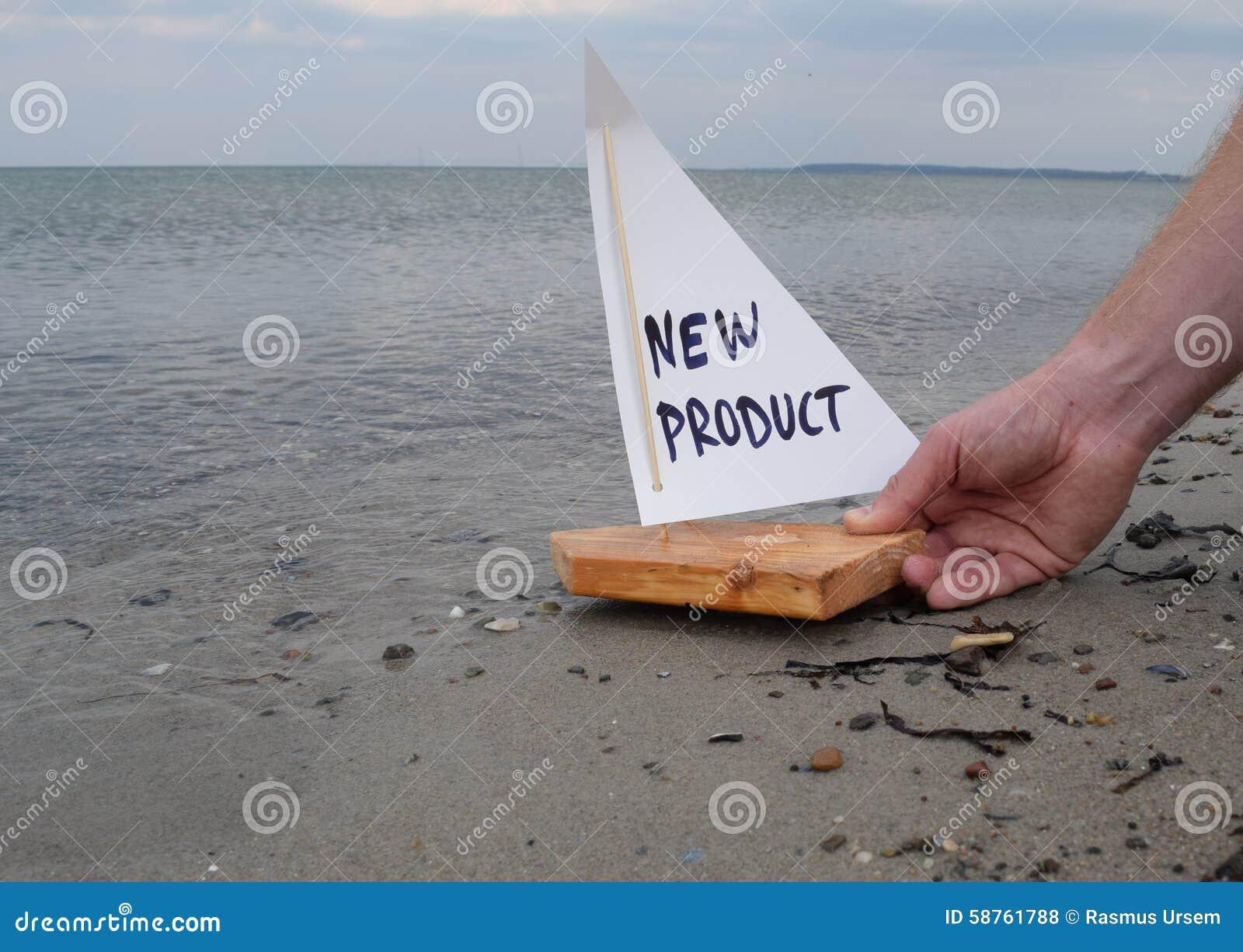 Lançando um produto novo