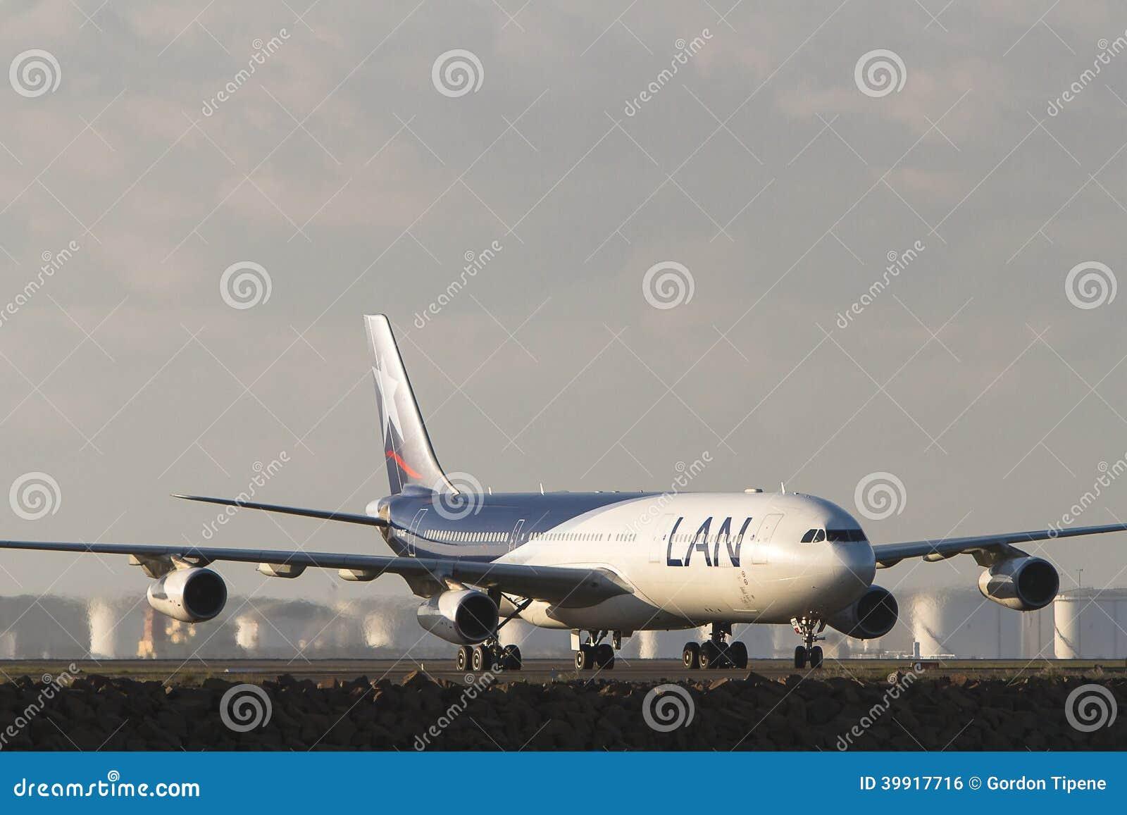 LAN Airlines Airbus A340 stråle