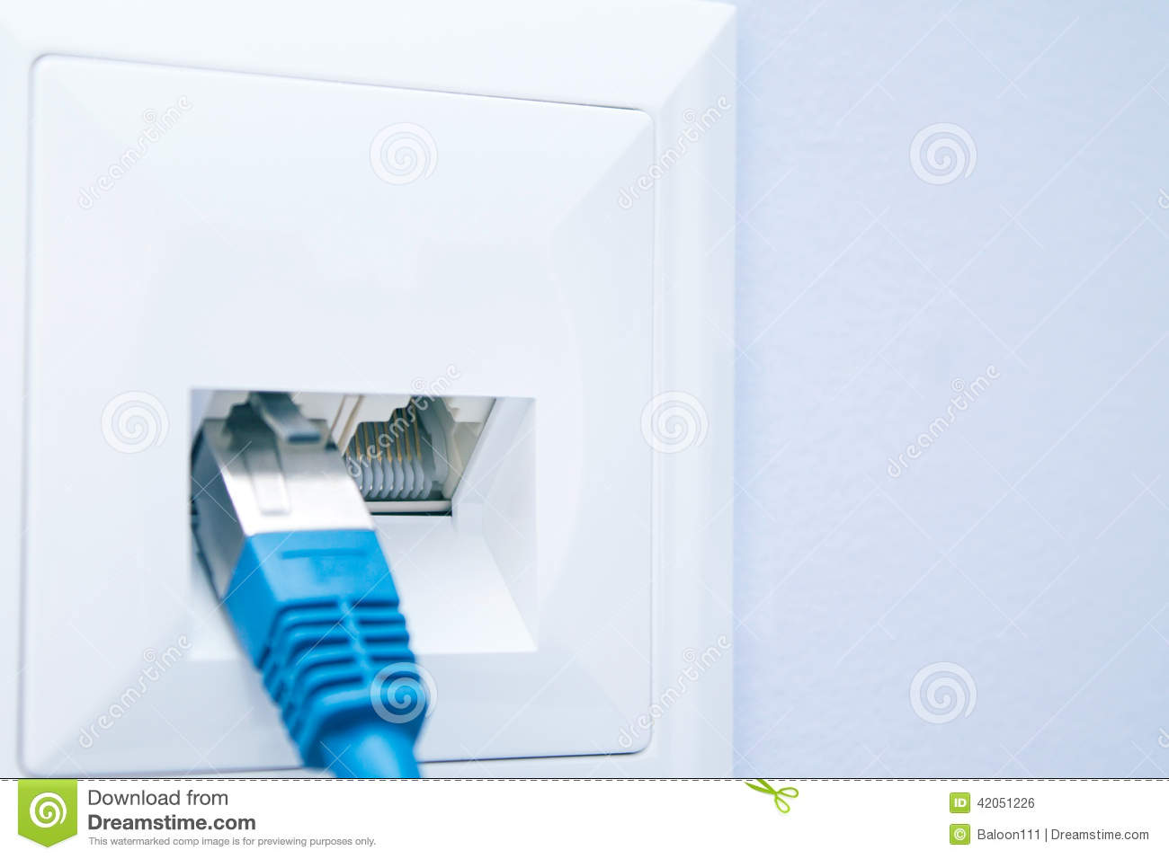 Wiring Lan Wall Socket The Portal And Forum Of Diagram Ethernet Cable Plugged Into Outlet Stock Photo Image