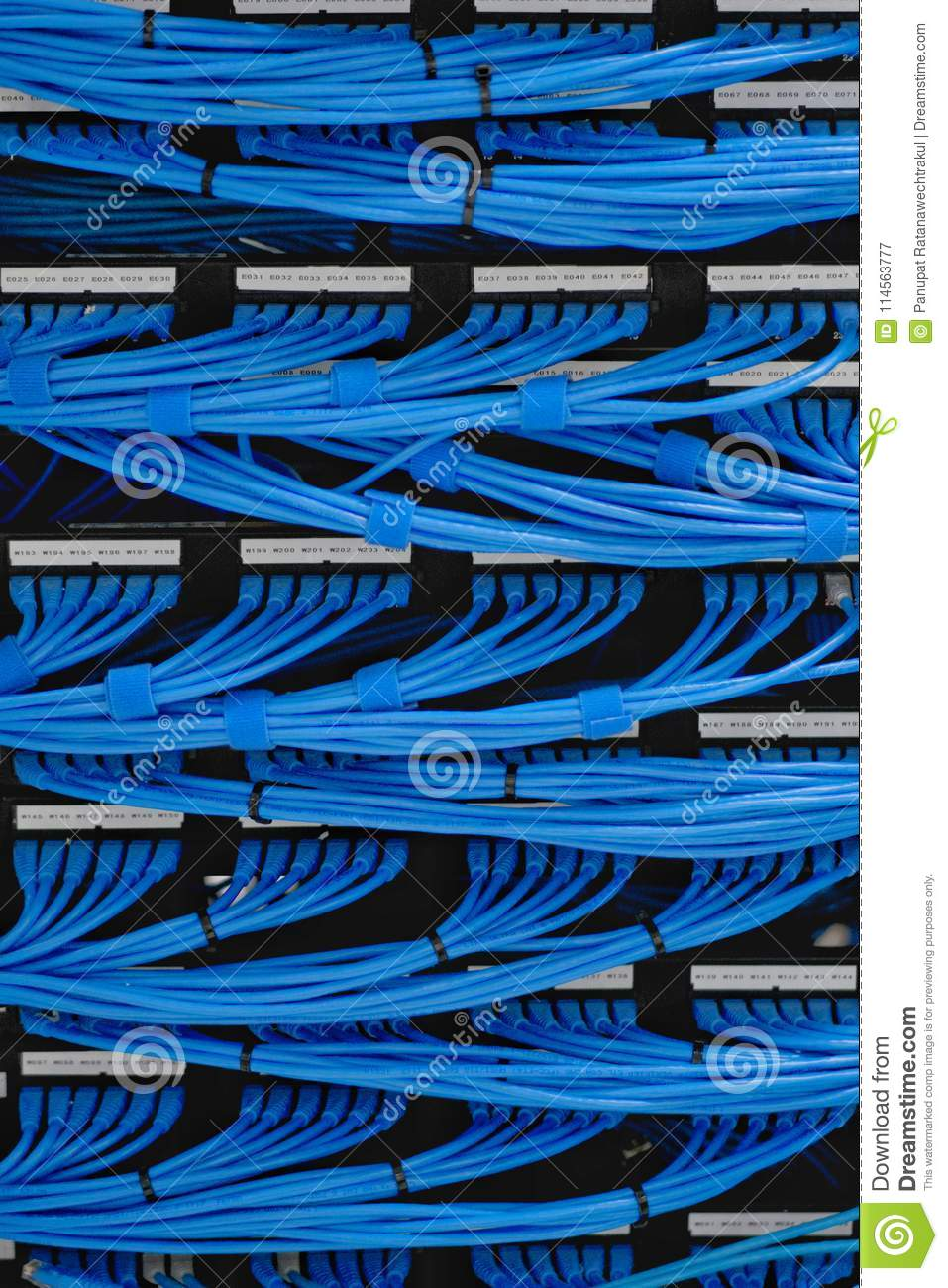 Awesome Lan Cable Wiring And Networking In The Data Center Stock Image Wiring Digital Resources Remcakbiperorg