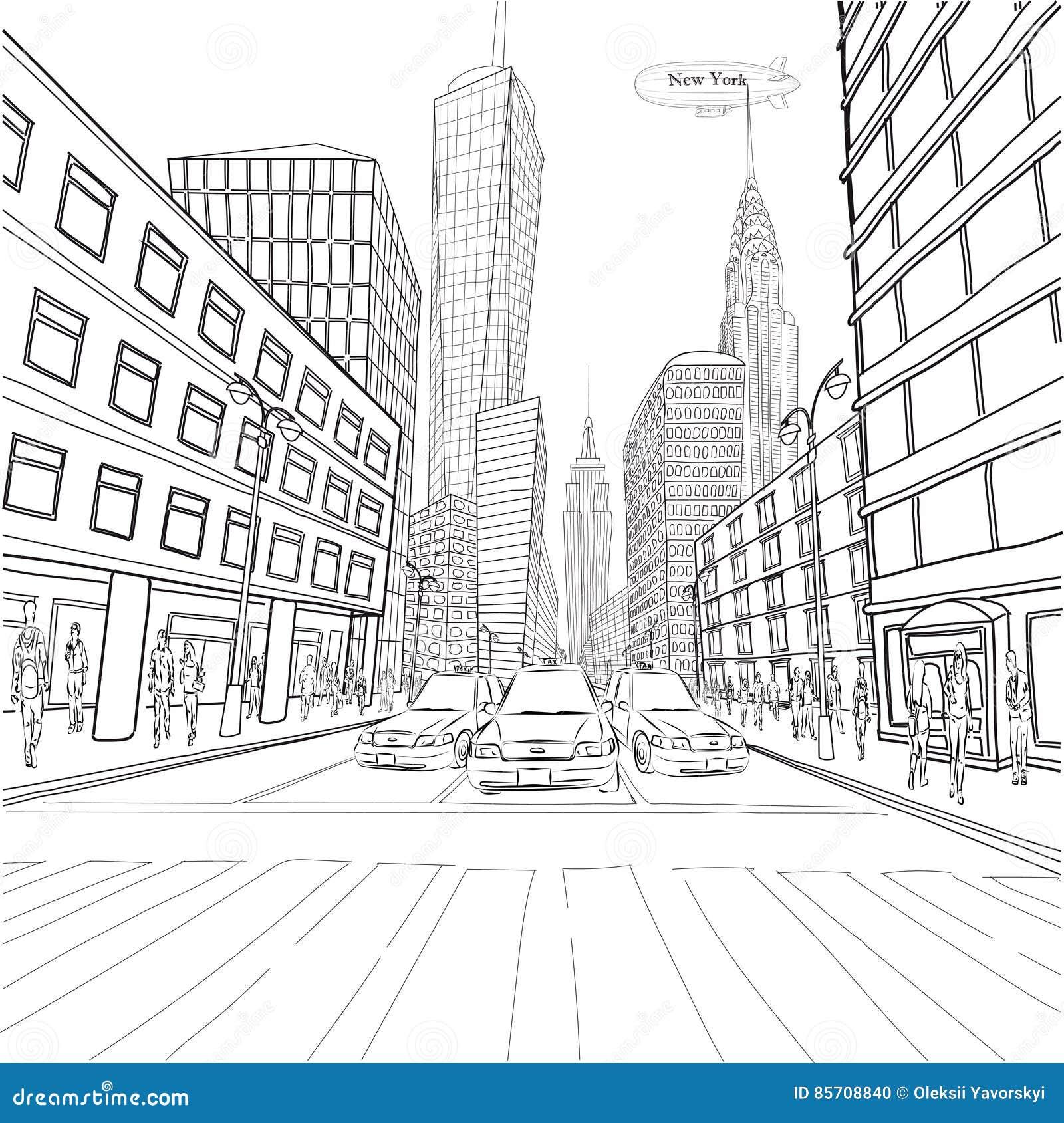 LAN de ville de bâtiment de Chrysler d état d empire de bâtiment de Londres New York