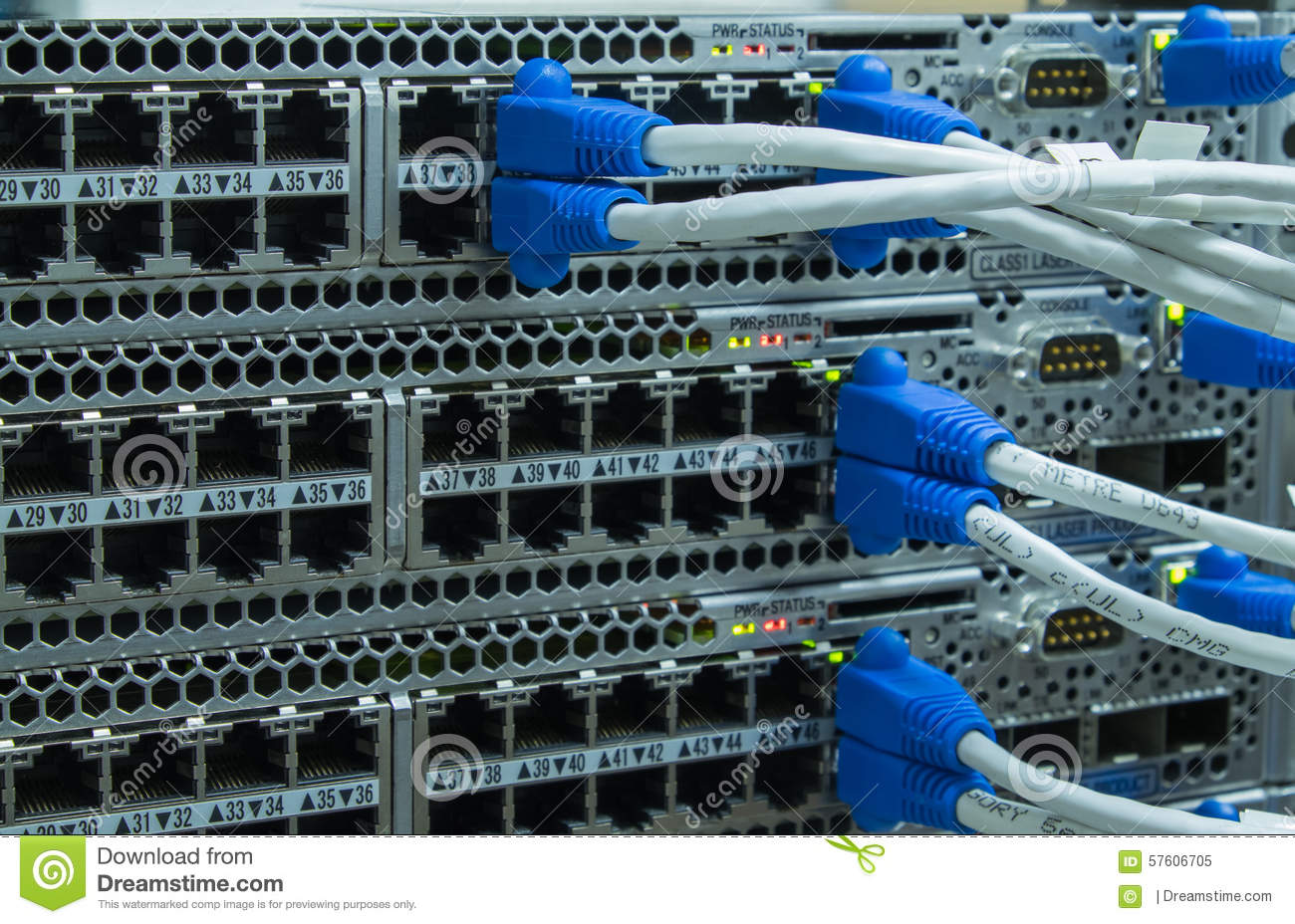 Remarkable Lan Utp Cable Plug In Network Switch Stock Image Image Of Wiring 101 Ferenstreekradiomeanderfmnl