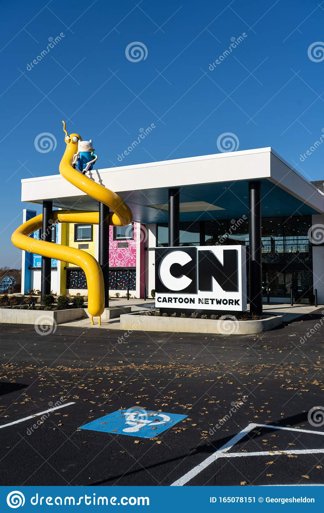 Cartoon Network Hotel Entrance Editorial Photo Image Of Lodge