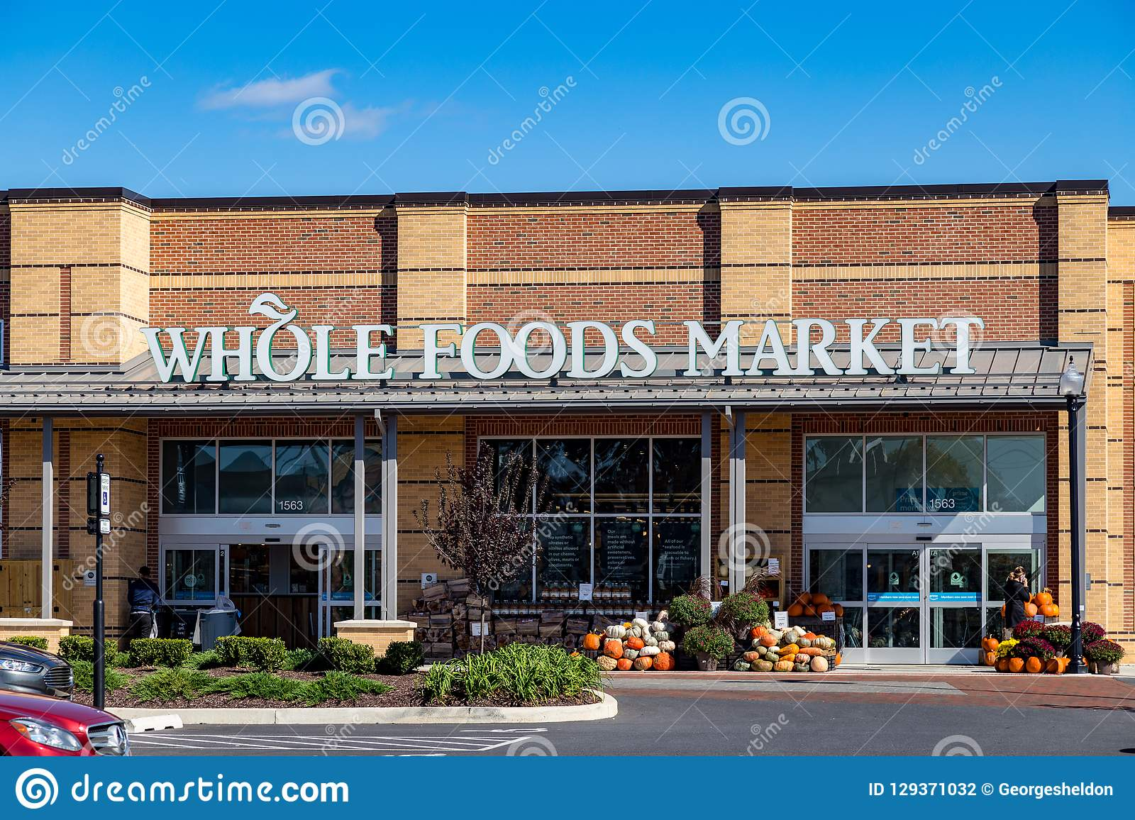 The Whole Foods Market Sign Editorial Photography - Image of