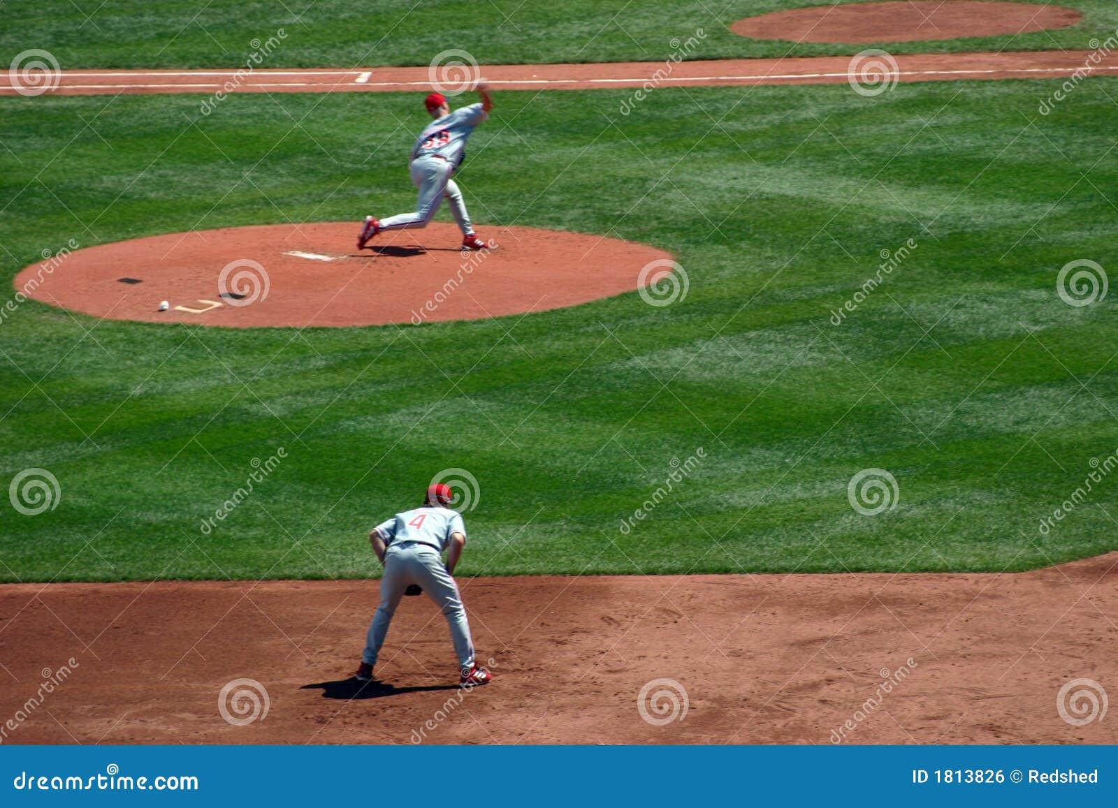 Lancement de base-ball