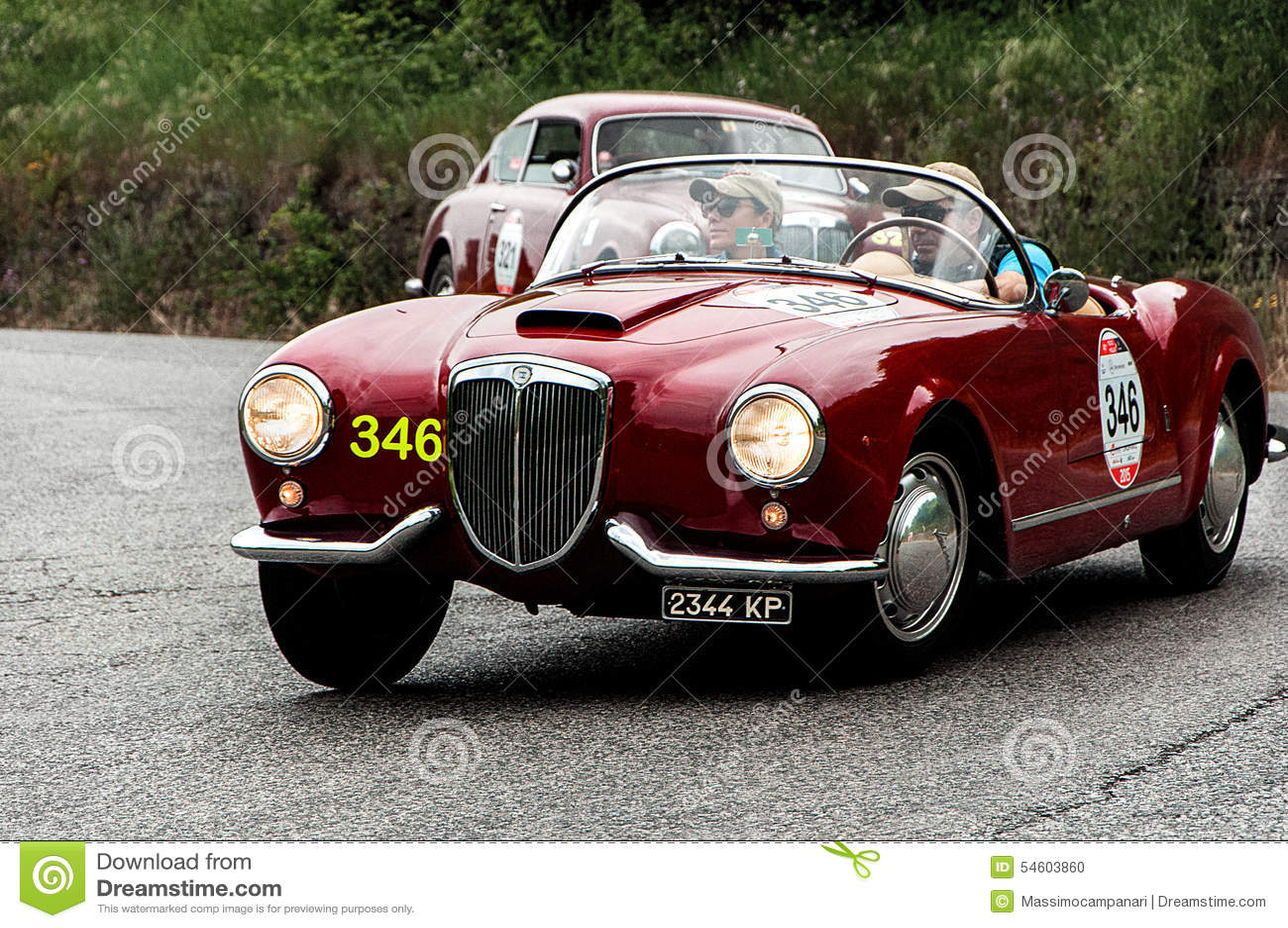 Lancia Aurelia B24 Spider America Pinin Farina 1955