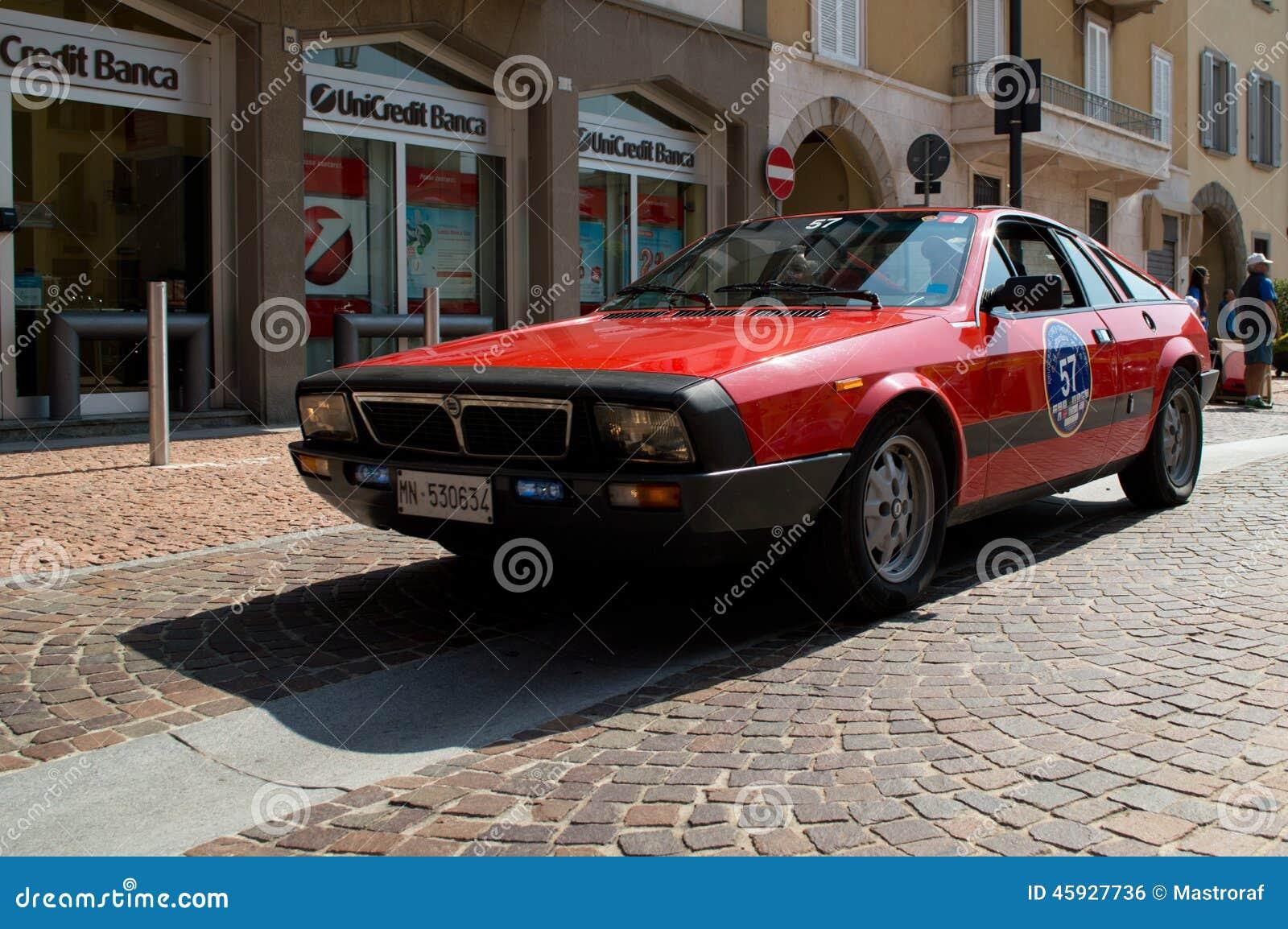 Lancia Beta Montecarlo At Circuito Di Zingonia 2014