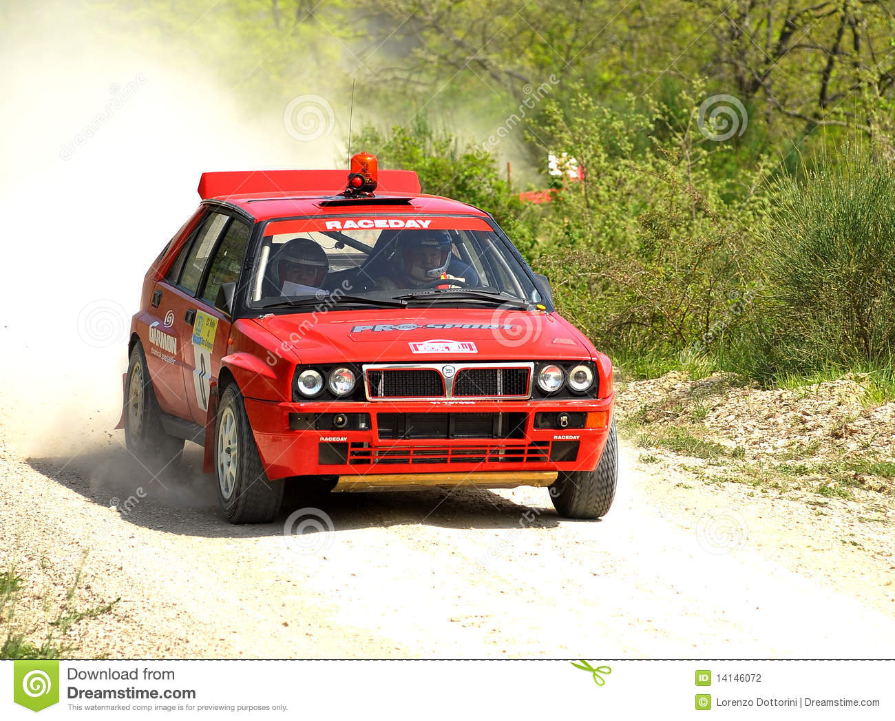 Lancia Delta HF rally car editorial photography. Image of wheel ...