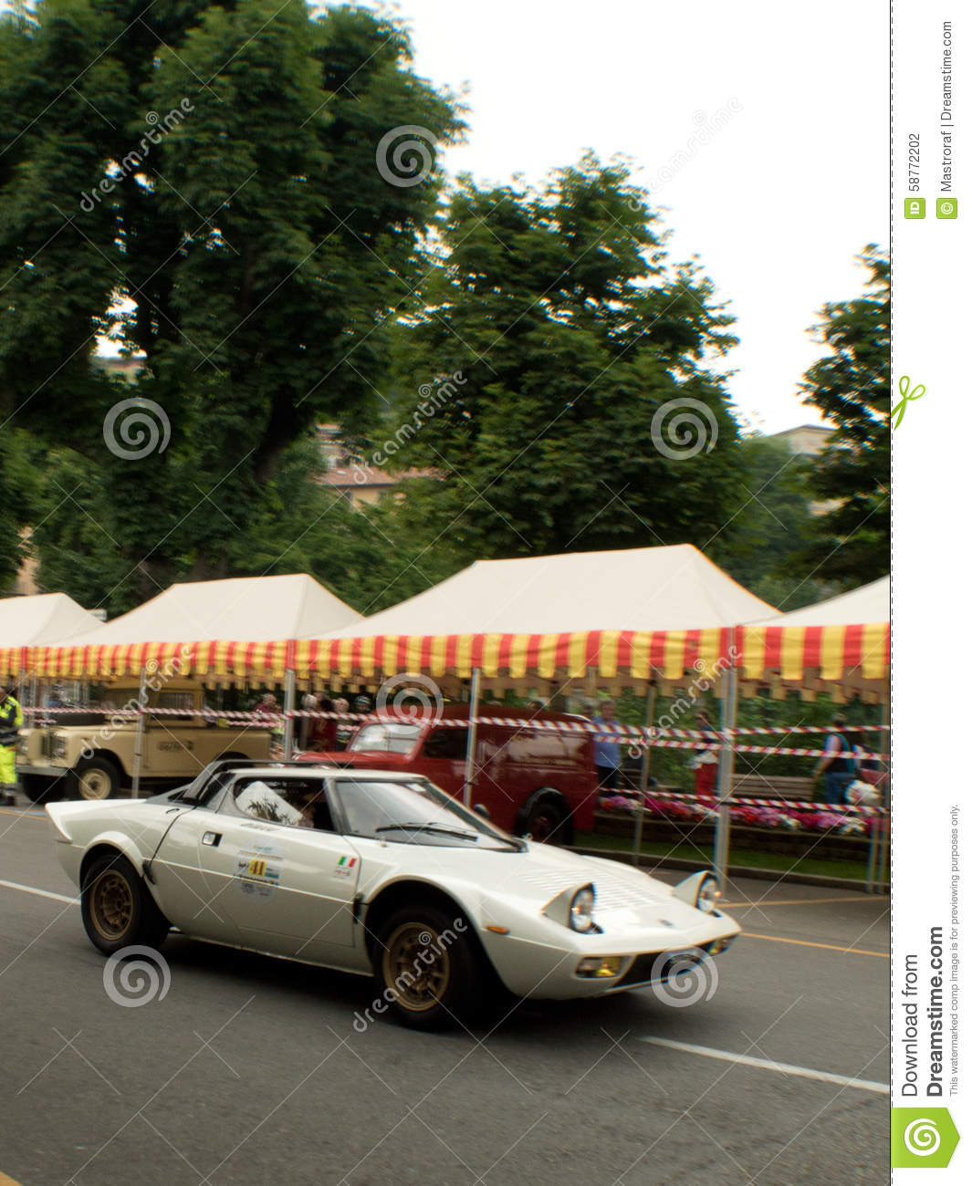 lancia stratos at bergamo historic grand prix 2015 editorial photography. Black Bedroom Furniture Sets. Home Design Ideas