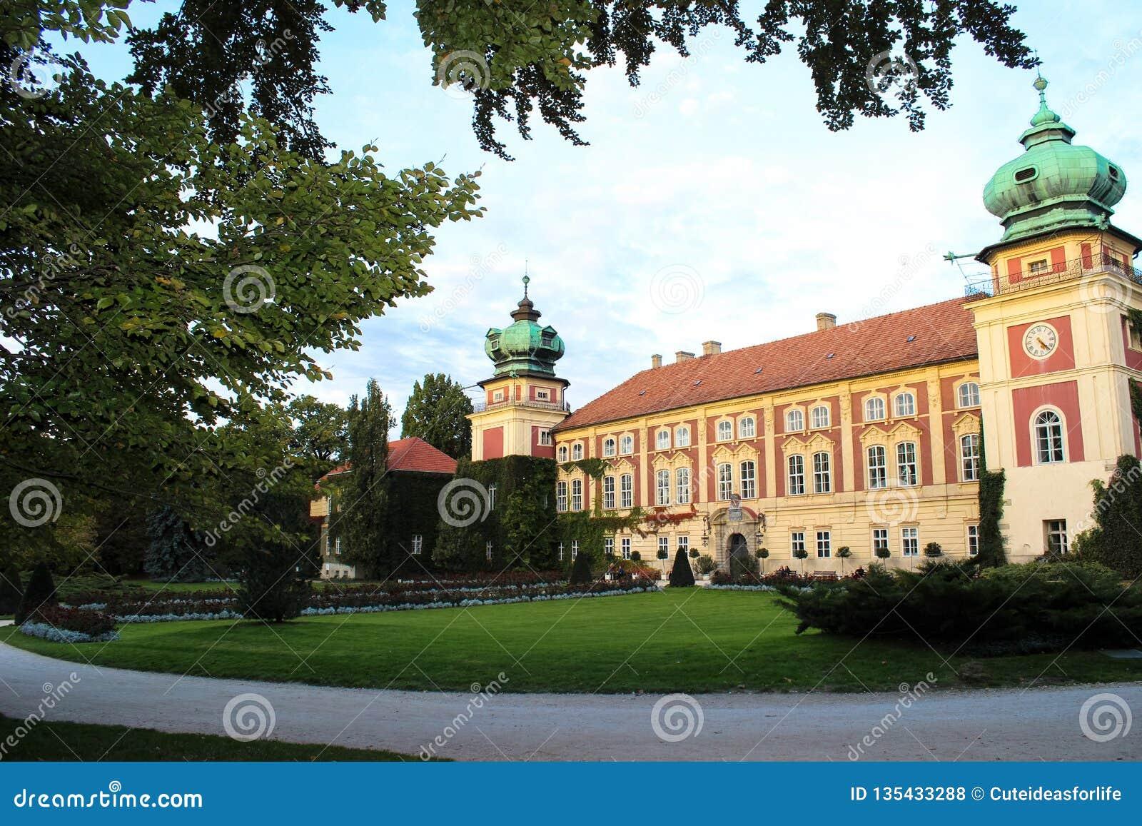 Lancut, Πολωνία - 6 Οκτωβρίου 2013: Ιστορικό Lancut Castle