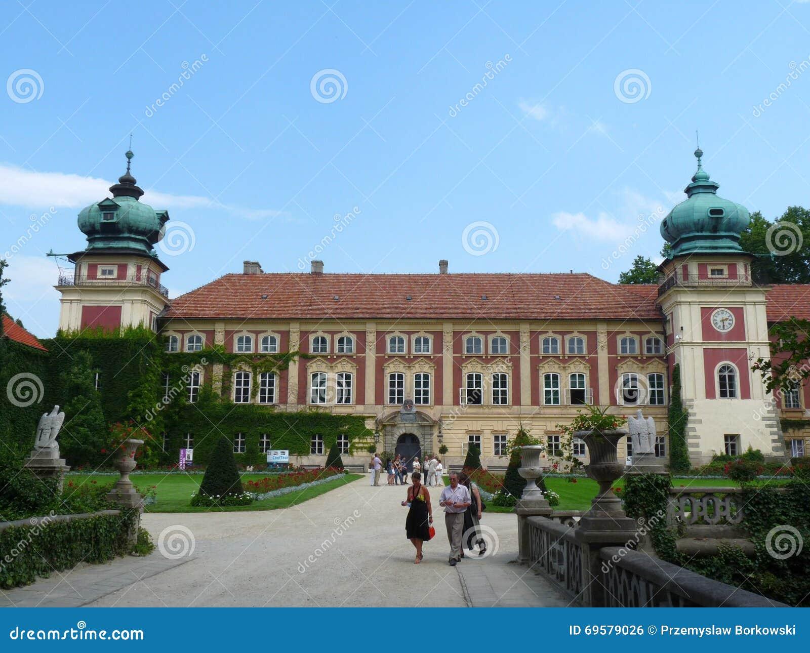 Lancut pałac