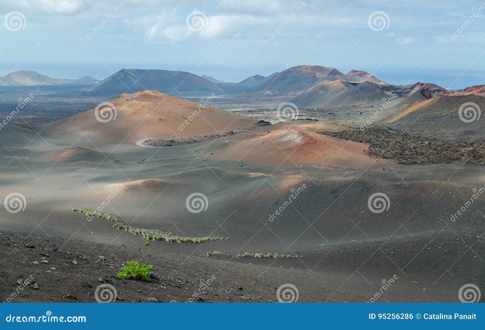 Land av volcanoes